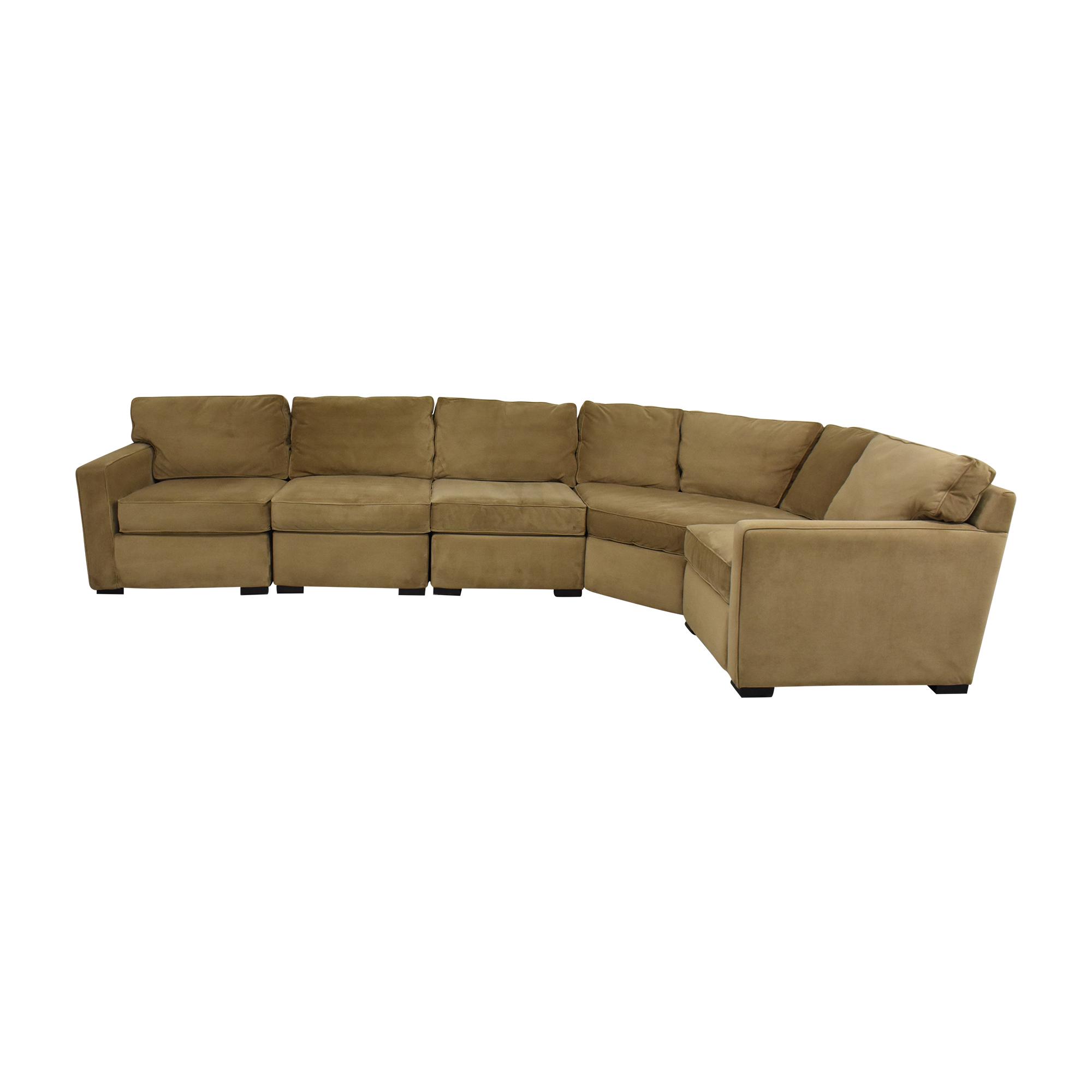 Macy's Macy's Jonathan Louis Corner Sectional Sofa dimensions