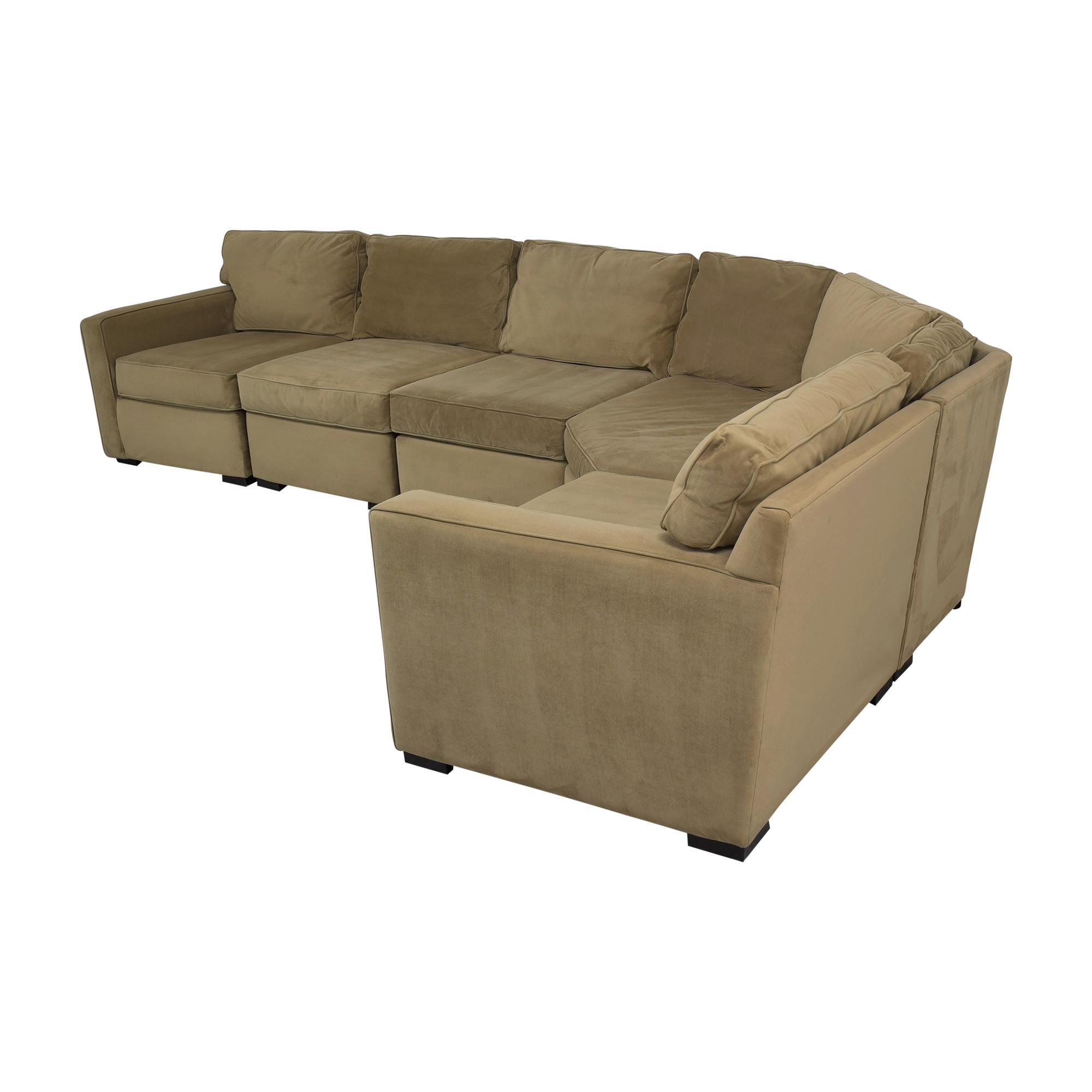 Macy's Macy's Jonathan Louis Corner Sectional Sofa nj