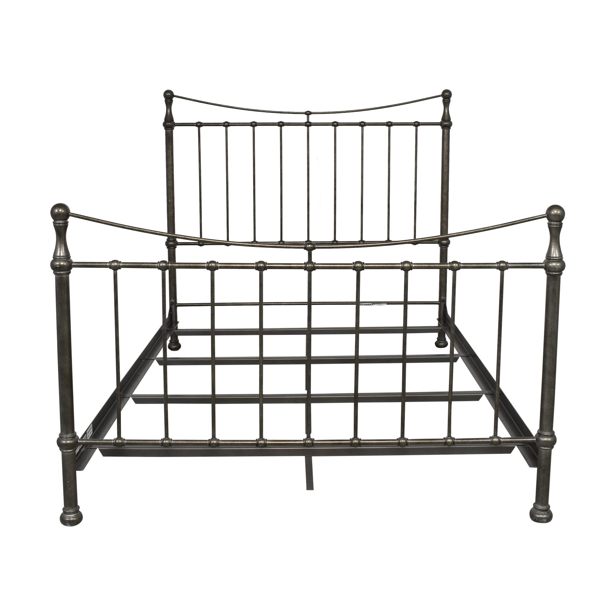 buy Ethan Allen Queen Danby Bed Frame Ethan Allen Bed Frames