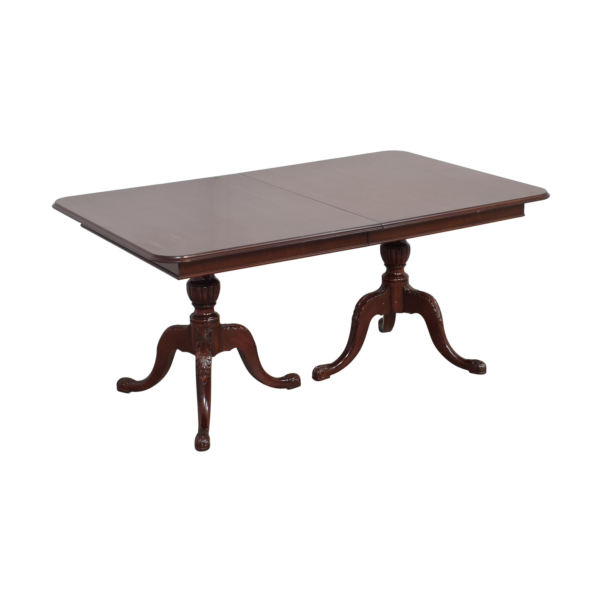 buy Vintage Two Pedestal Extending Dining Table  Tables
