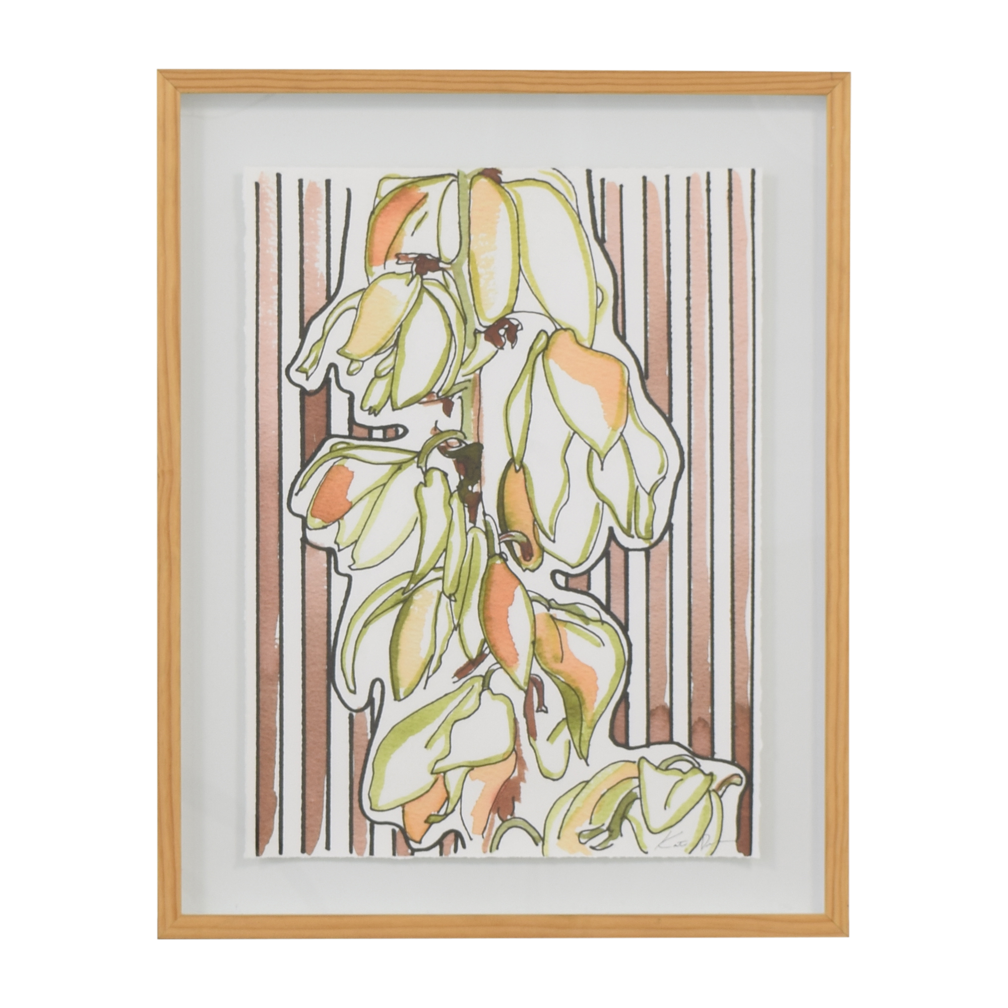 Anthropologie Anthropologie Yucca Branch Wall Art second hand