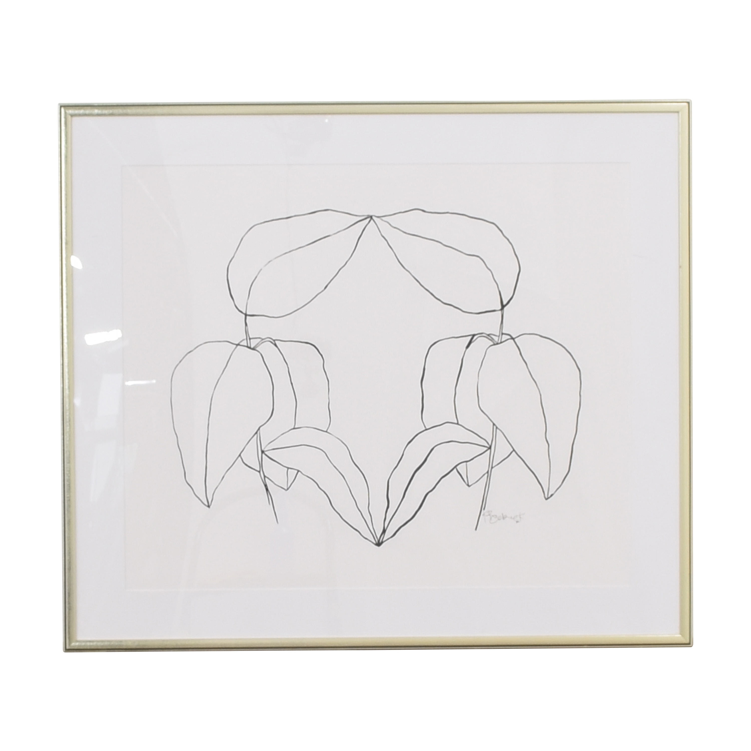 Anthropologie Floral Wall Art / Decor