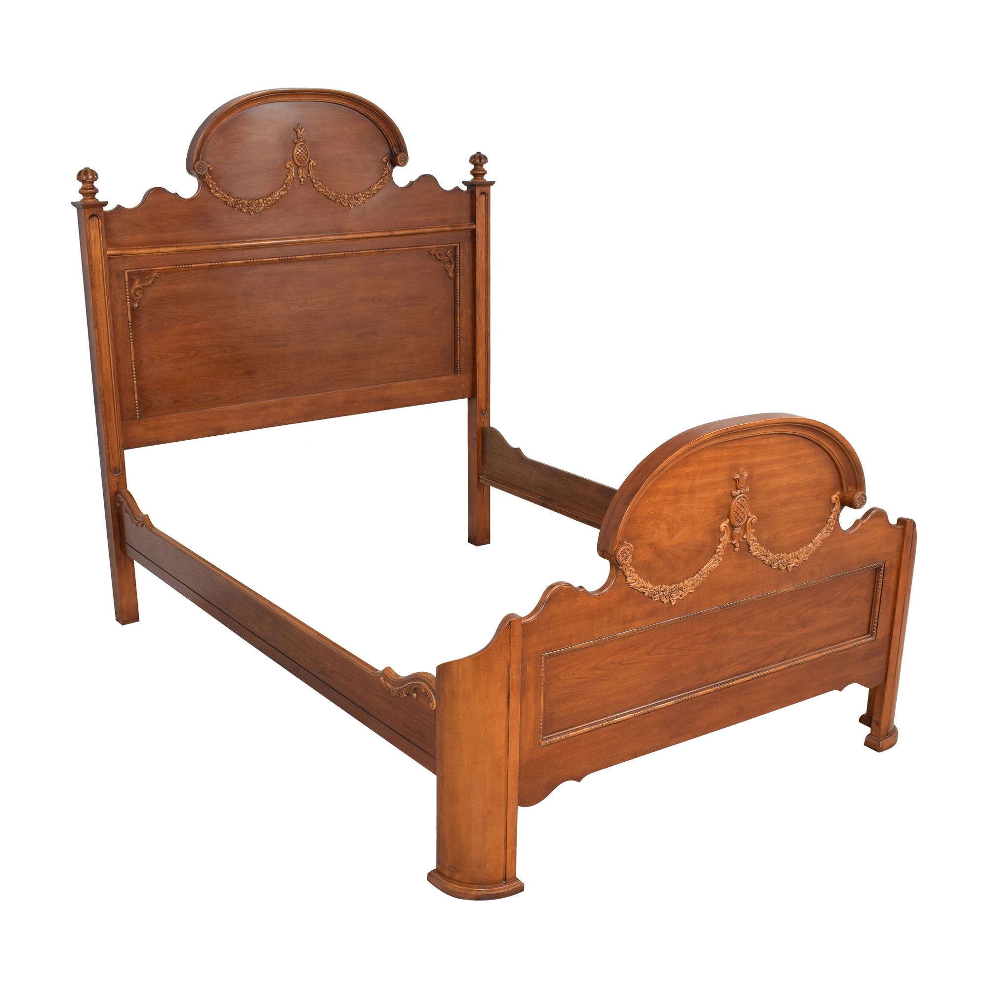 shop Lexington Lynn Hollyn at Home Queen Sleigh Bed Lexington Furniture