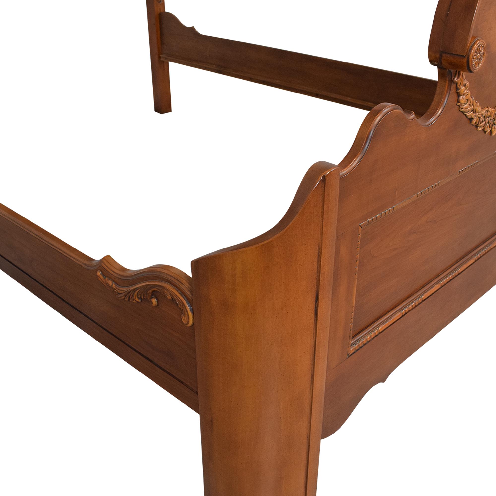 shop Lexington Lynn Hollyn at Home Queen Sleigh Bed Lexington Furniture Beds