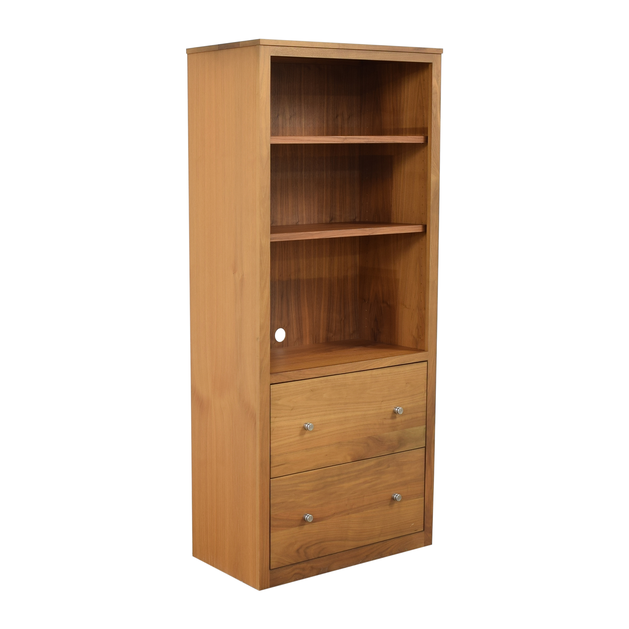 Room & Board Woodwind Bookcase with Drawers / Storage