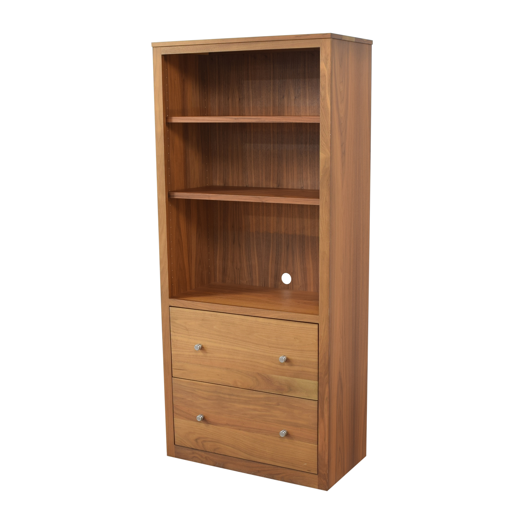 Room & Board Room & Board Woodwind Bookcase with Drawers Storage