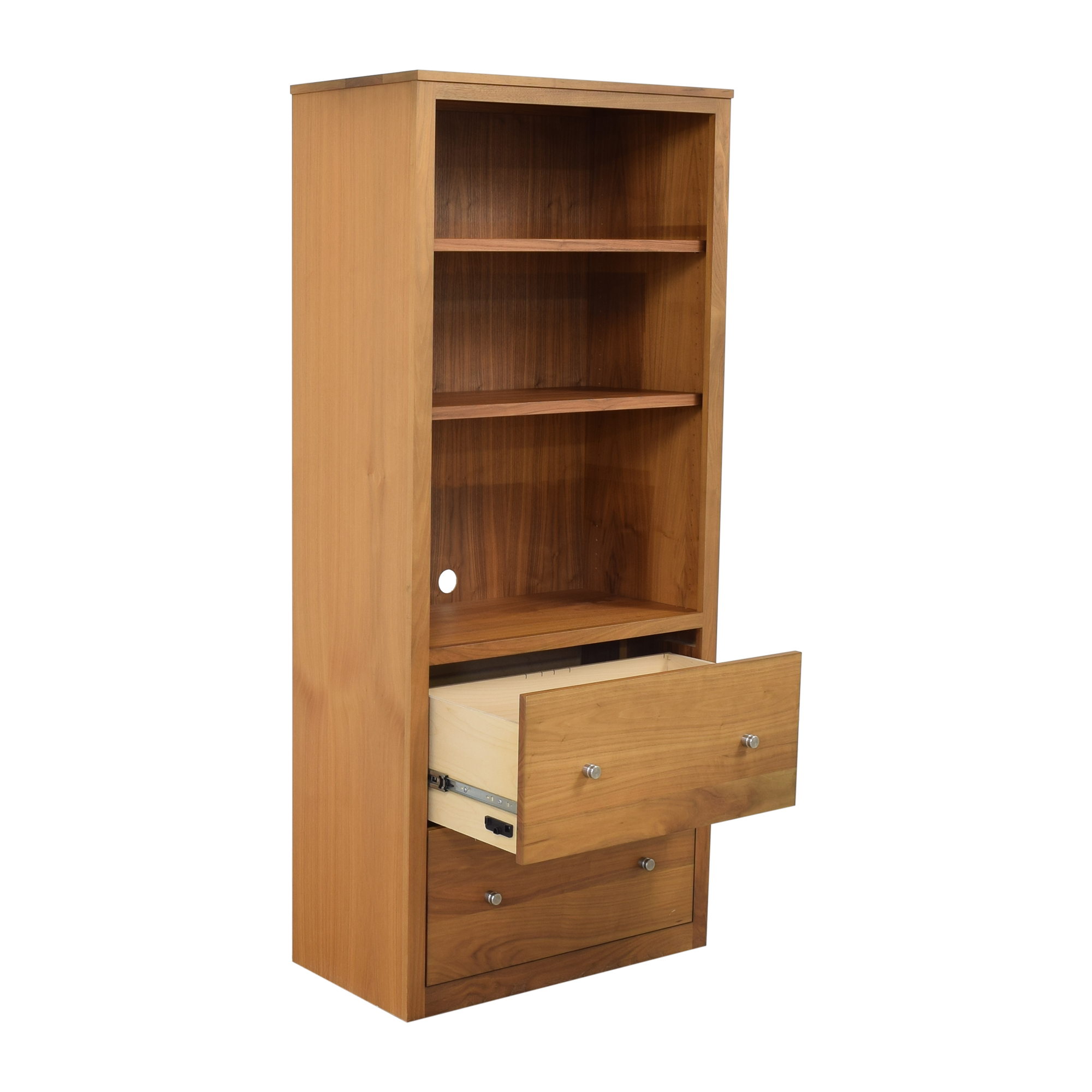 buy Room & Board Woodwind Bookcase with Drawers Room & Board Storage