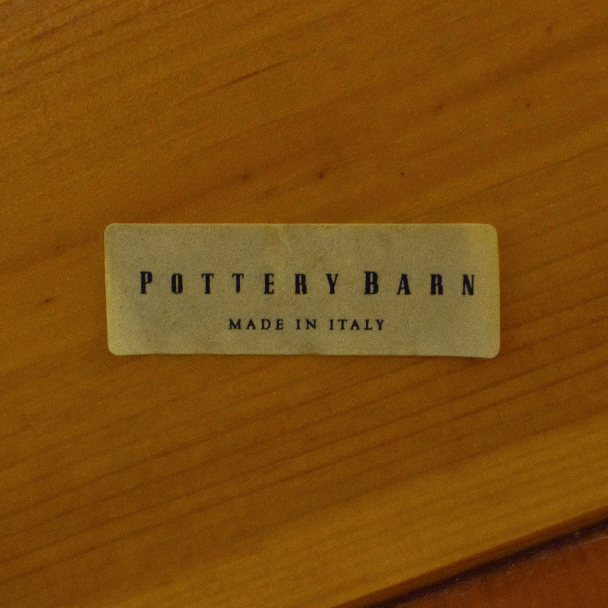Pottery Barn Pottery Barn Rectangular Dining Table pa