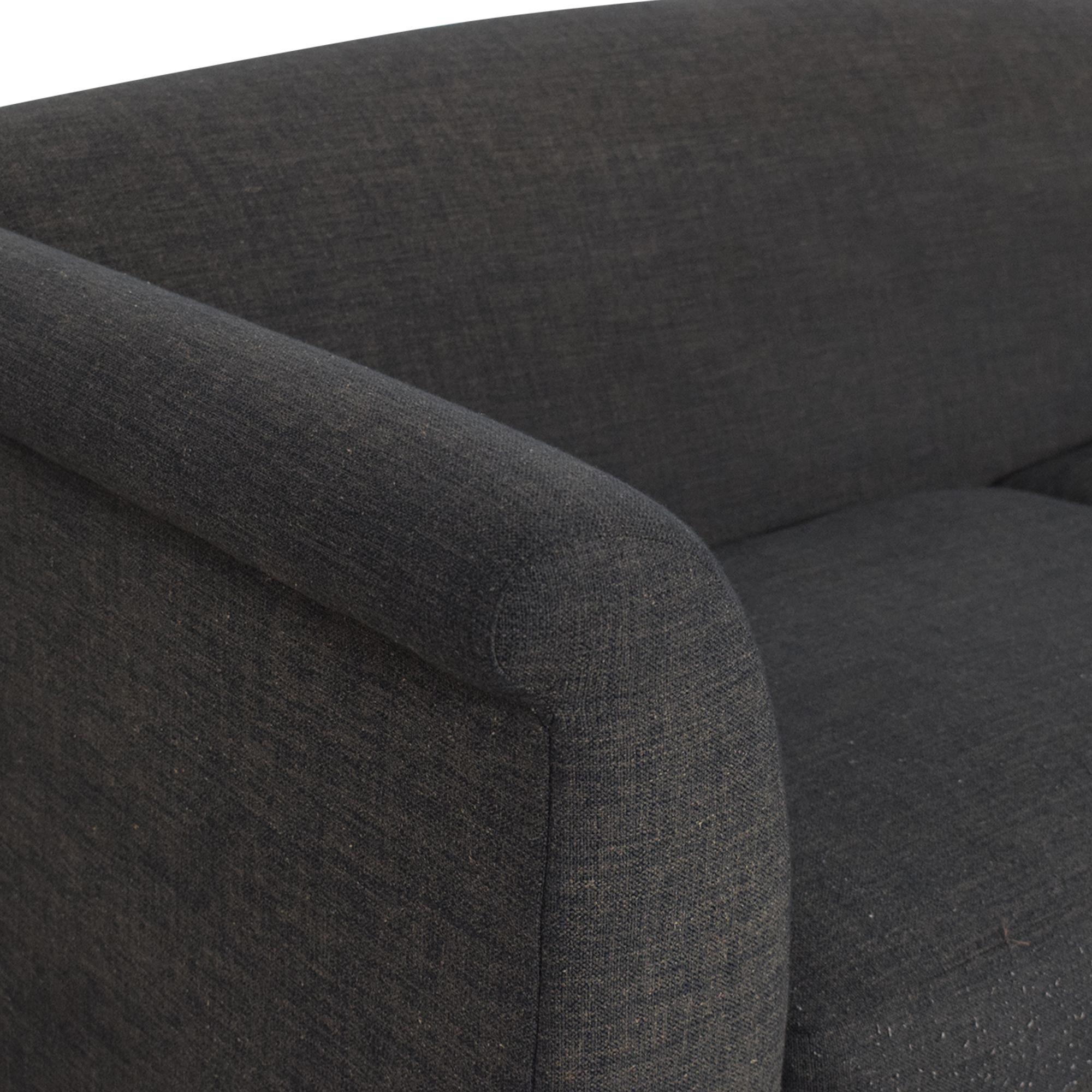 Crate & Barrel Crate & Barrel Two Cushion Sofa