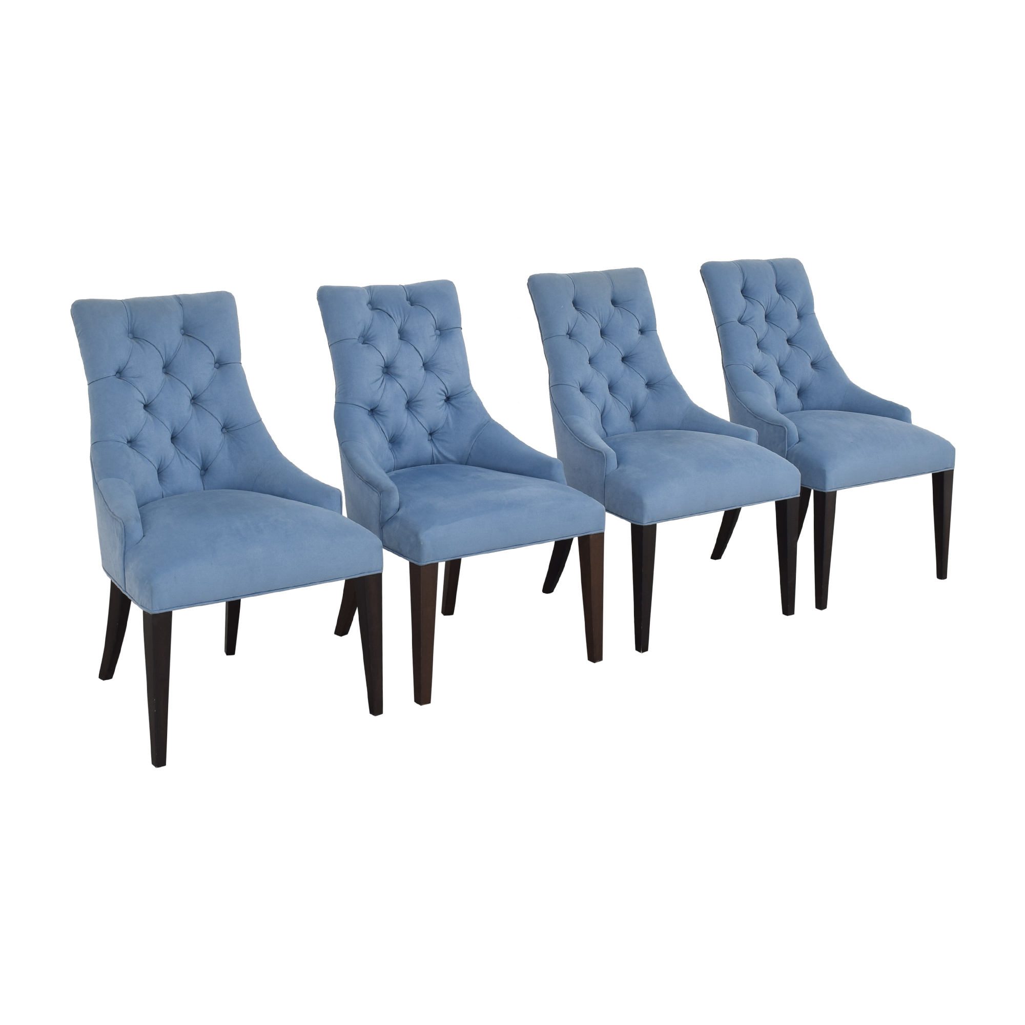 Tufted Back Dining Chairs discount