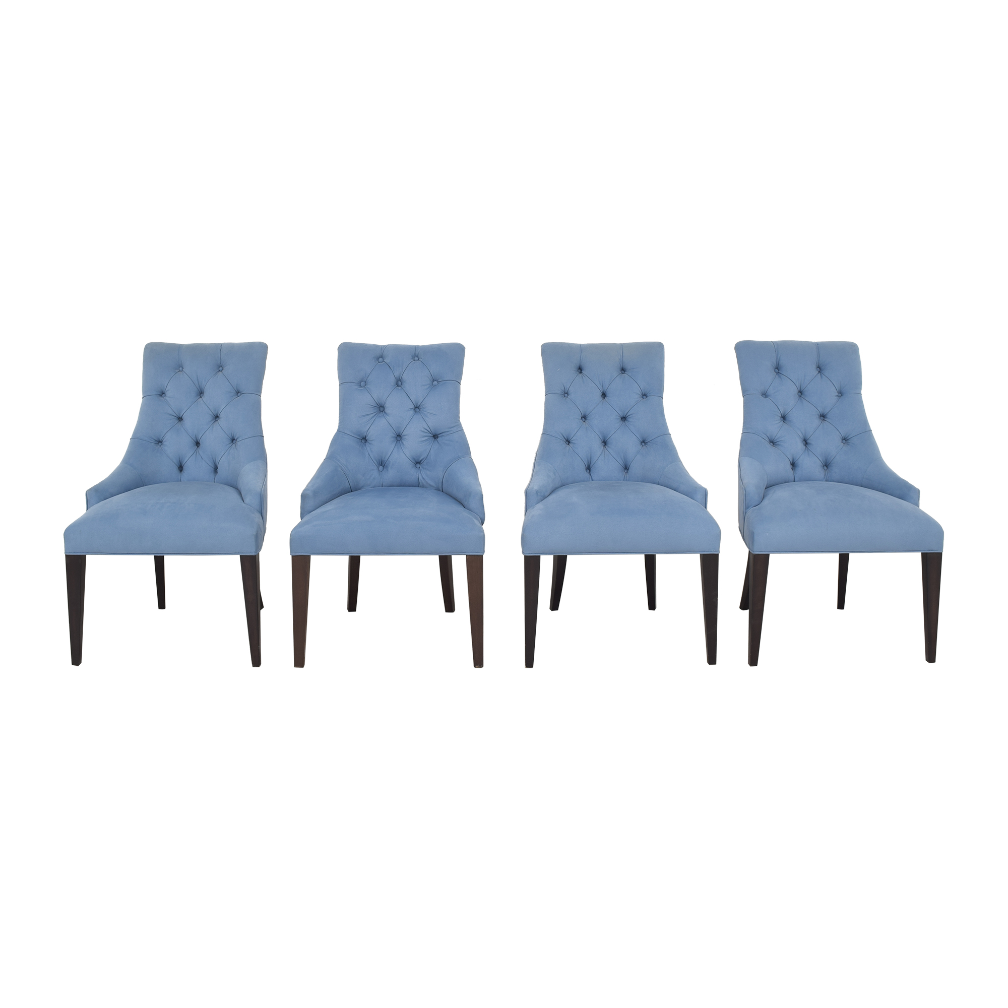 Tufted Back Dining Chairs price