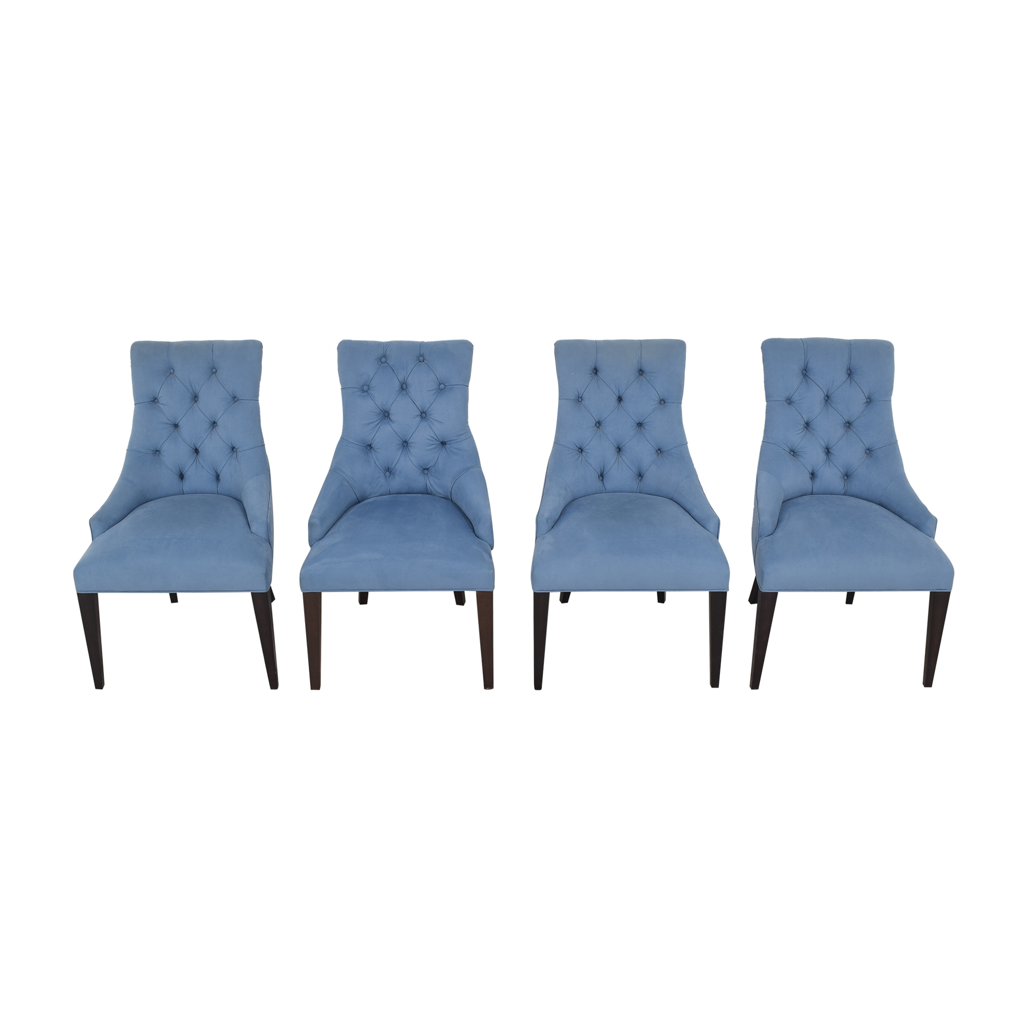 Tufted Back Dining Chairs on sale