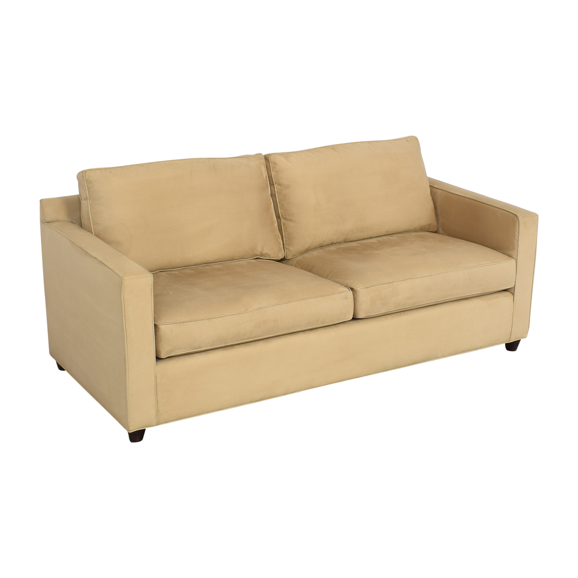 Crate & Barrel Crate & Barrel Two Cushion Sofa on sale