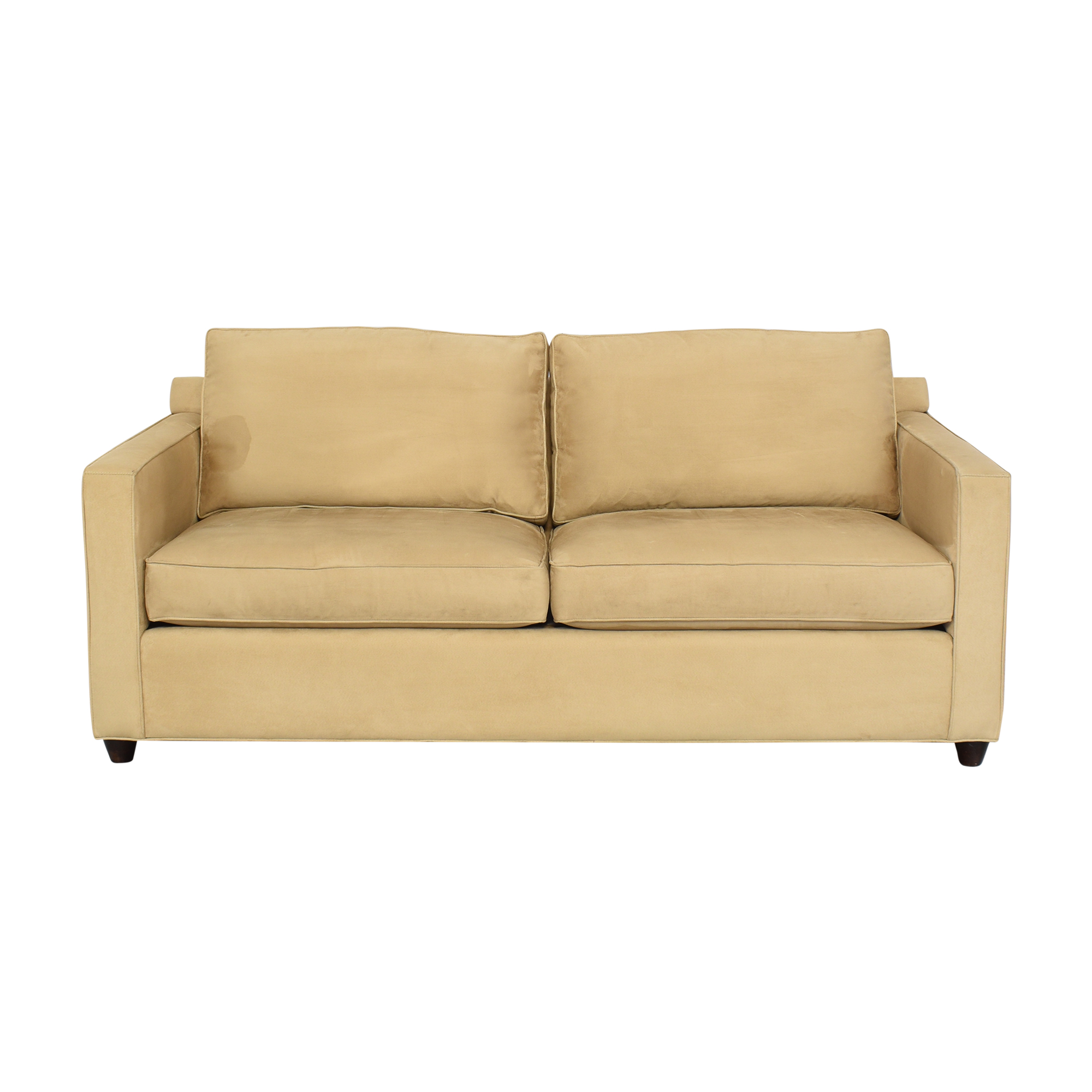 Crate & Barrel Two Cushion Sofa sale