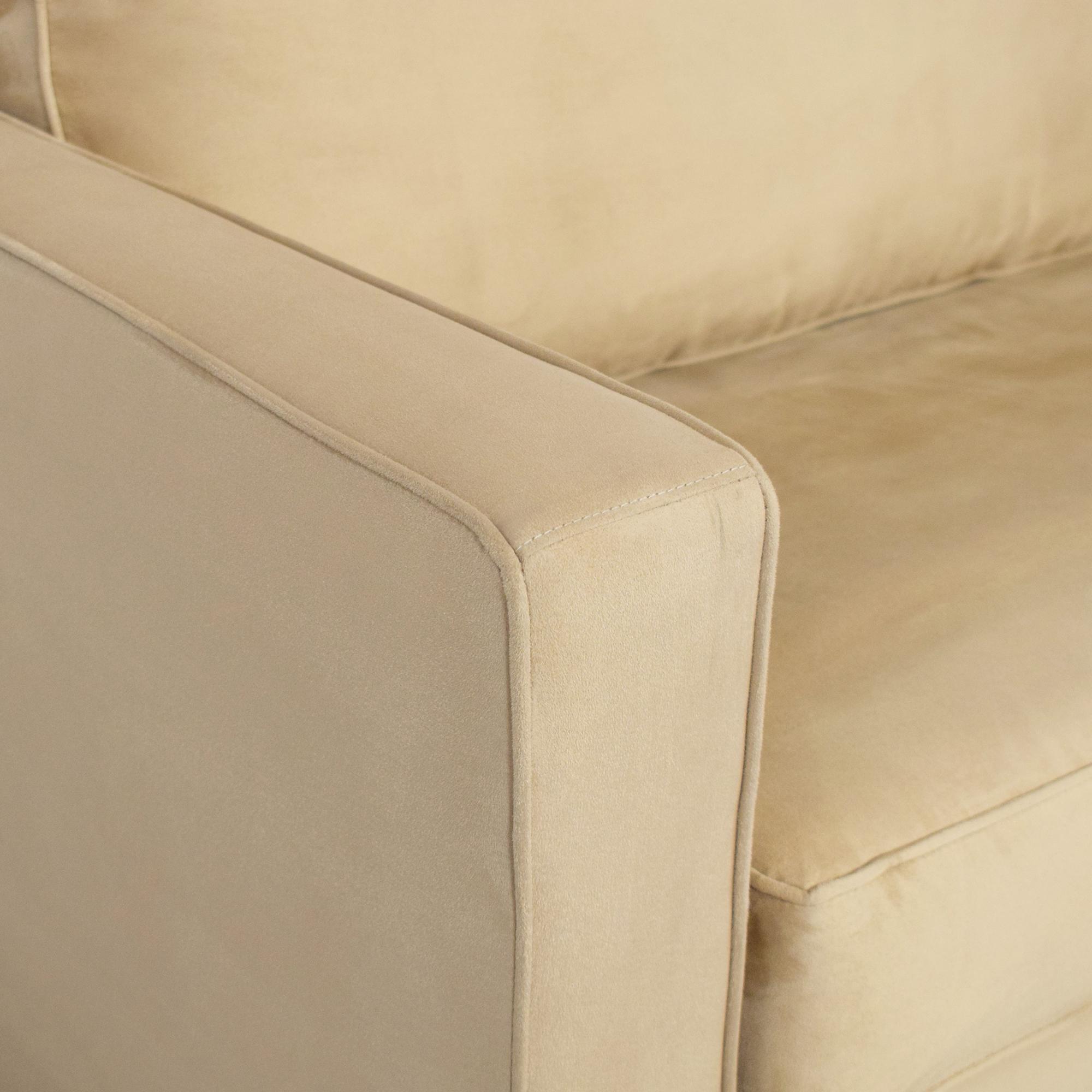 Crate & Barrel Barrett Twin Sleeper / Chairs