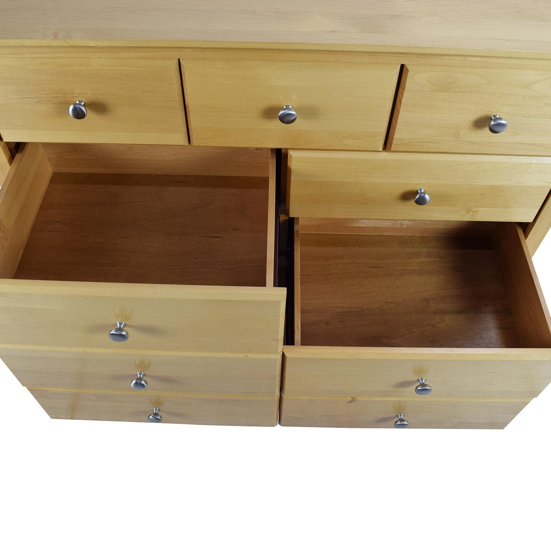 65% OFF - Hoot Judkins Hoot Judkins Solid Alder Wood Shaker Dresser / Storage