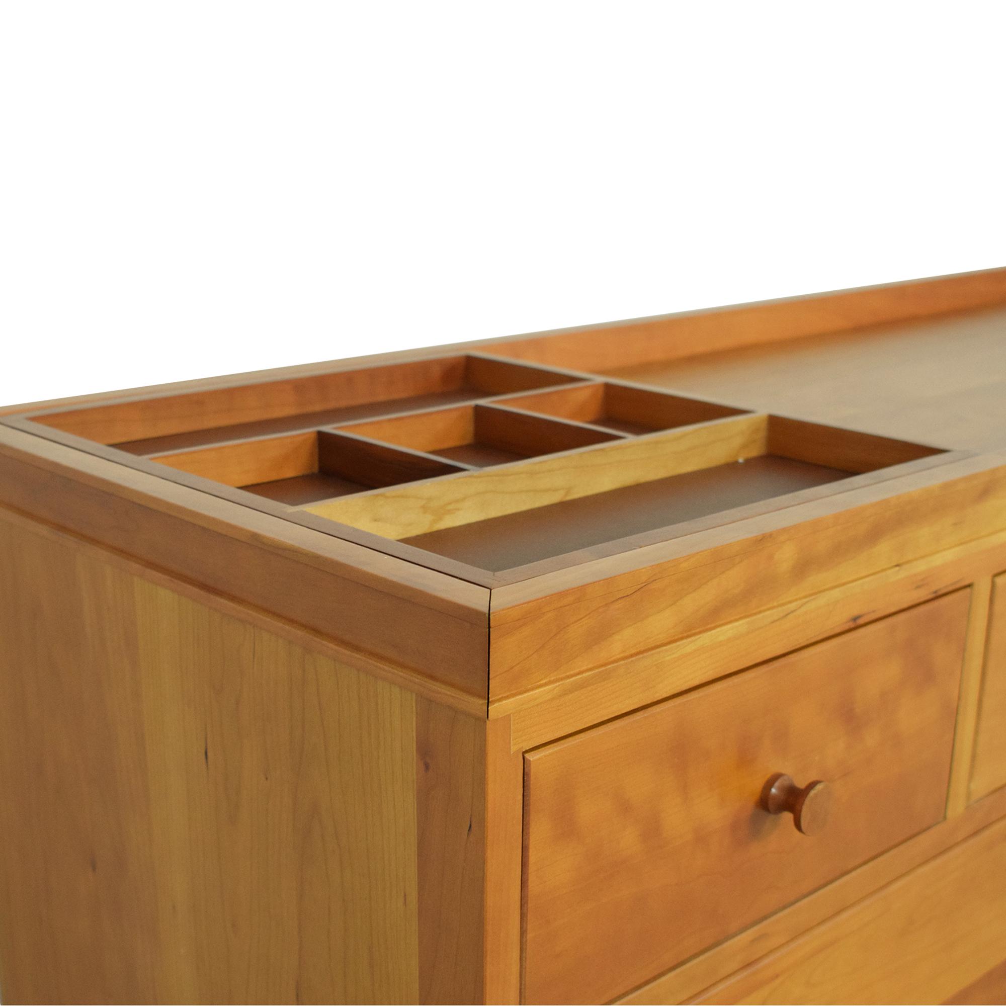 Crate & Barrel Crate & Barrel Cabot by Copeland Ten Drawer Dresser