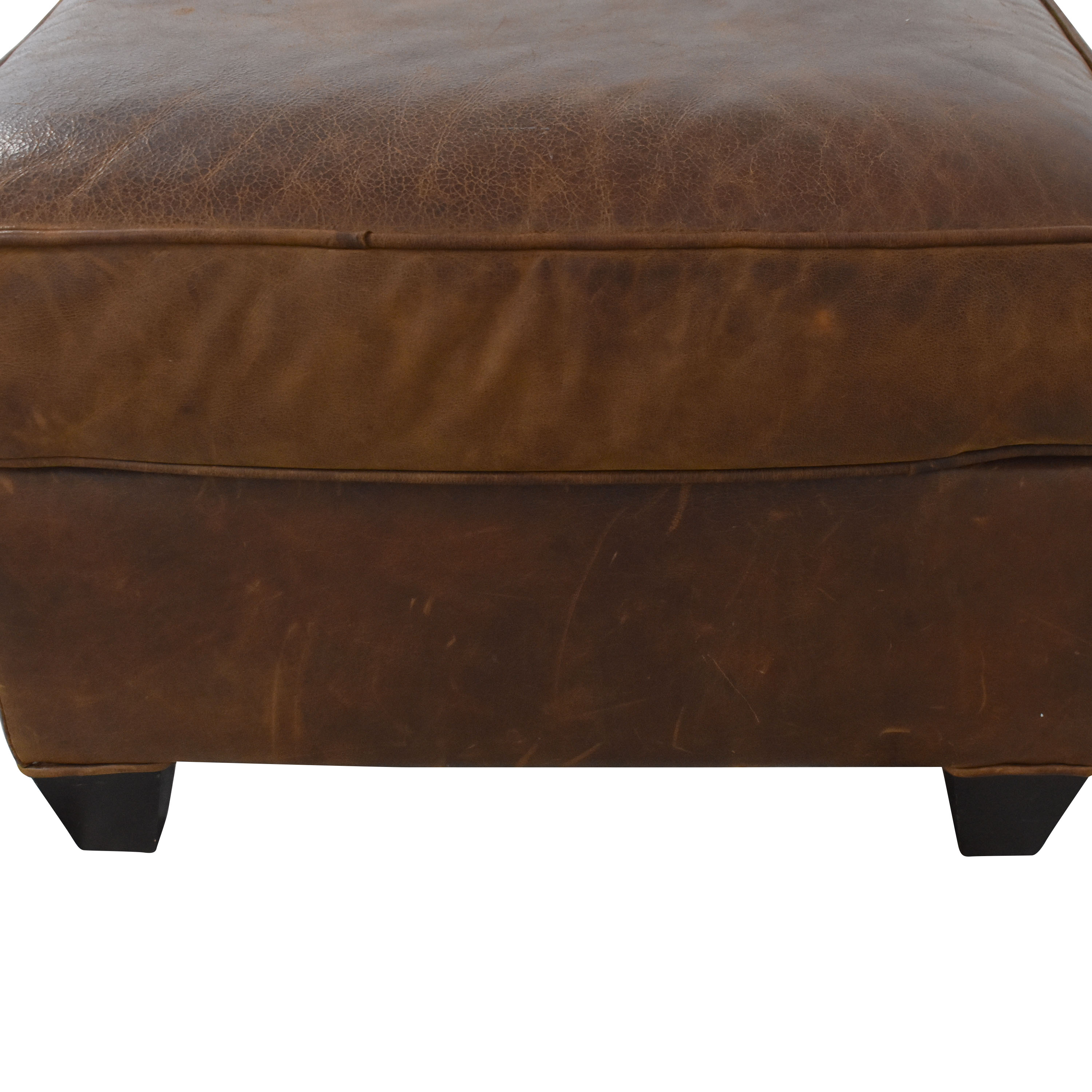 Crate & Barrel Ottoman / Chairs