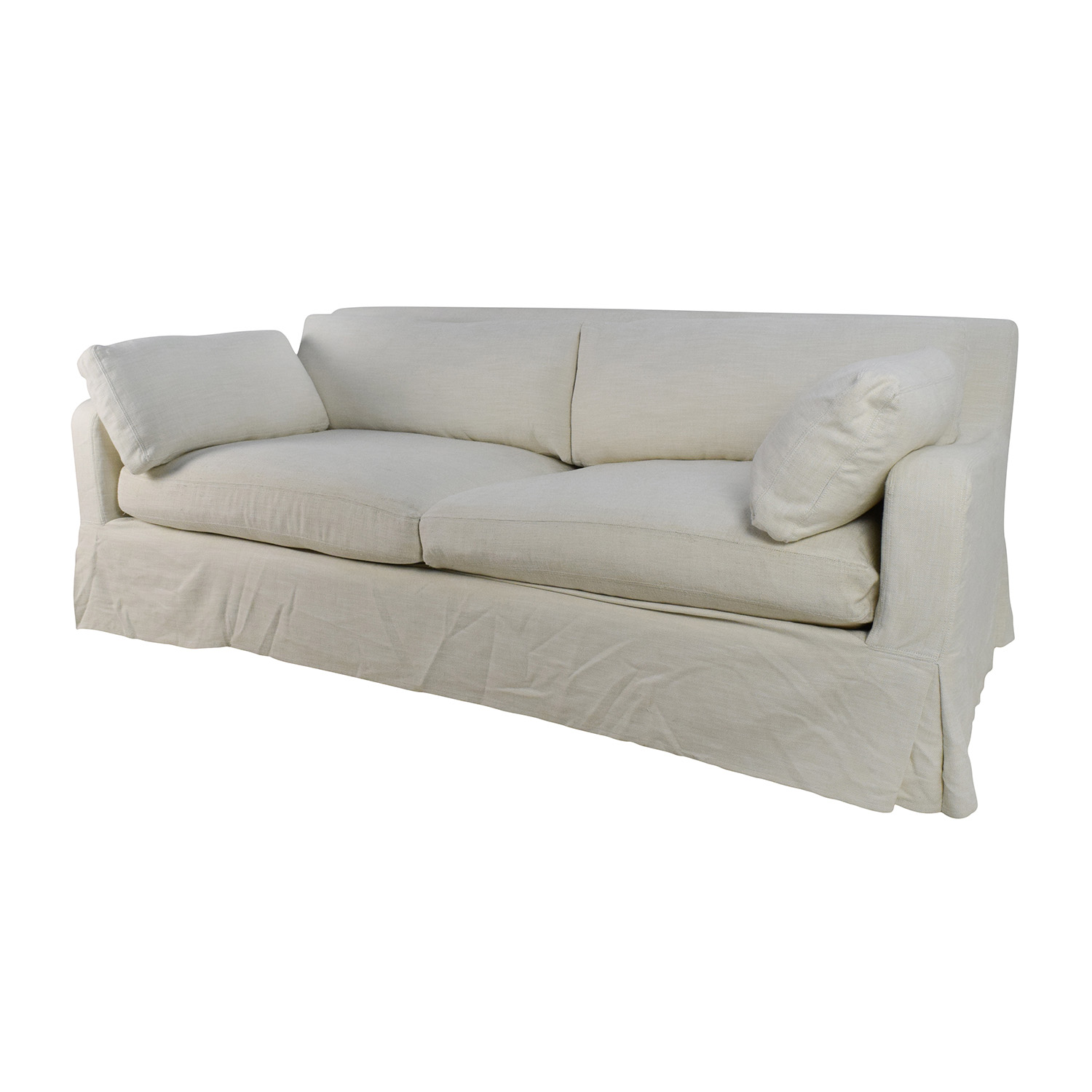 Restoration Hardware Sofa Slipcover English Roll Arm Slipcovered Sleeper Sofa Thesofa