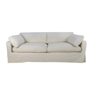buy Restoration Hardware Restoration Hardware Belgian Track Arm Slipcovered Sofa online