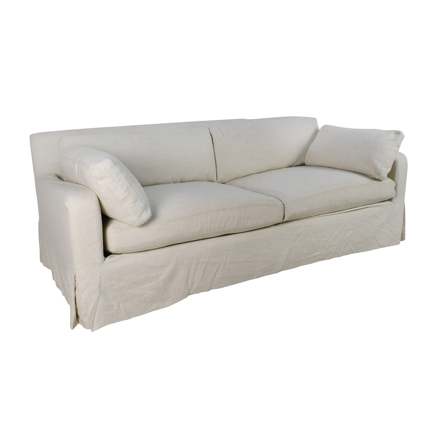 ... Shop Restoration Hardware Belgian Track Arm Slipcovered Sofa Restoration  Hardware Sofas ... Part 50