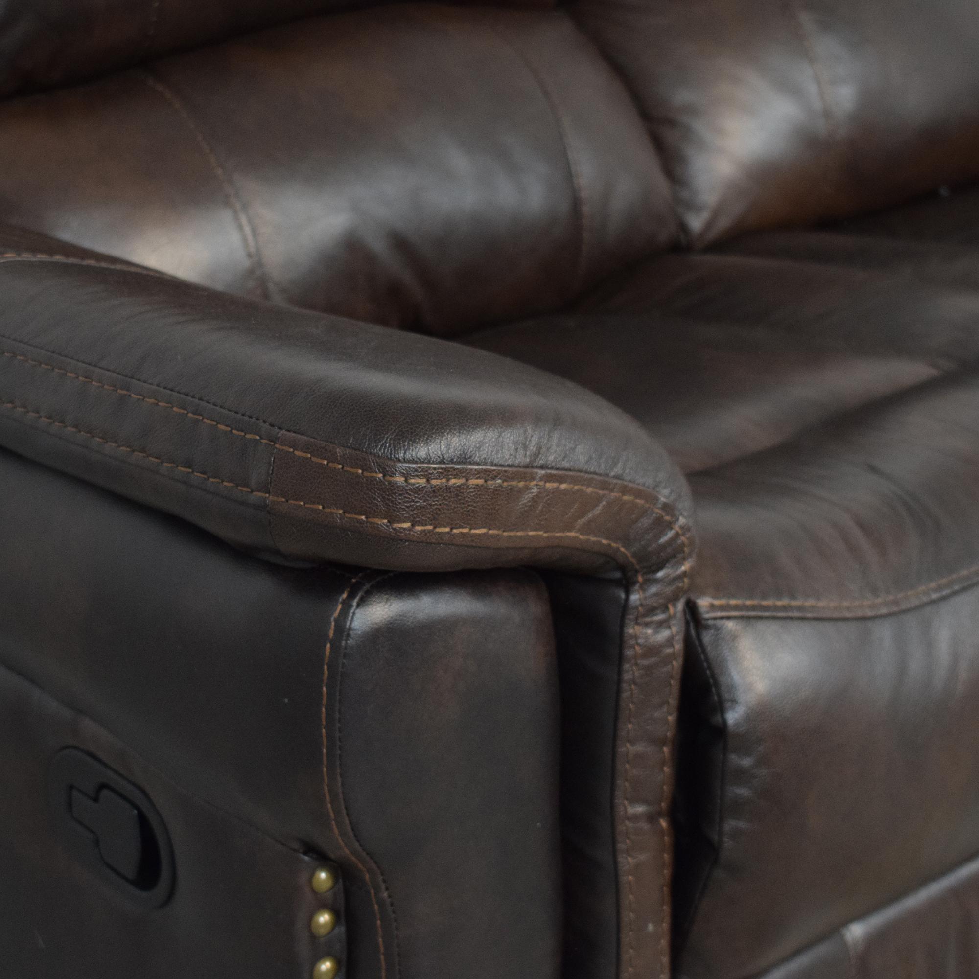 Delancey Street Furniture Recliner Sofa used