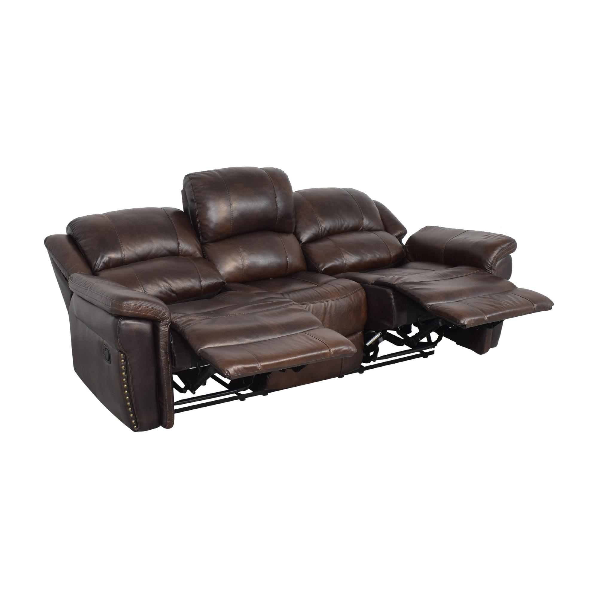 Delancey Street Furniture Recliner Sofa pa