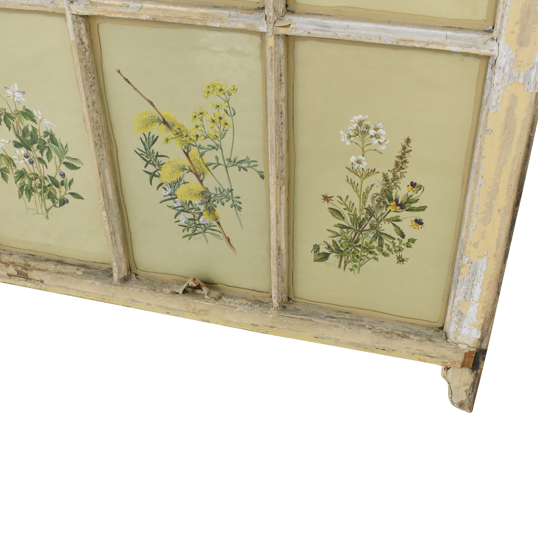 wall art of window frame
