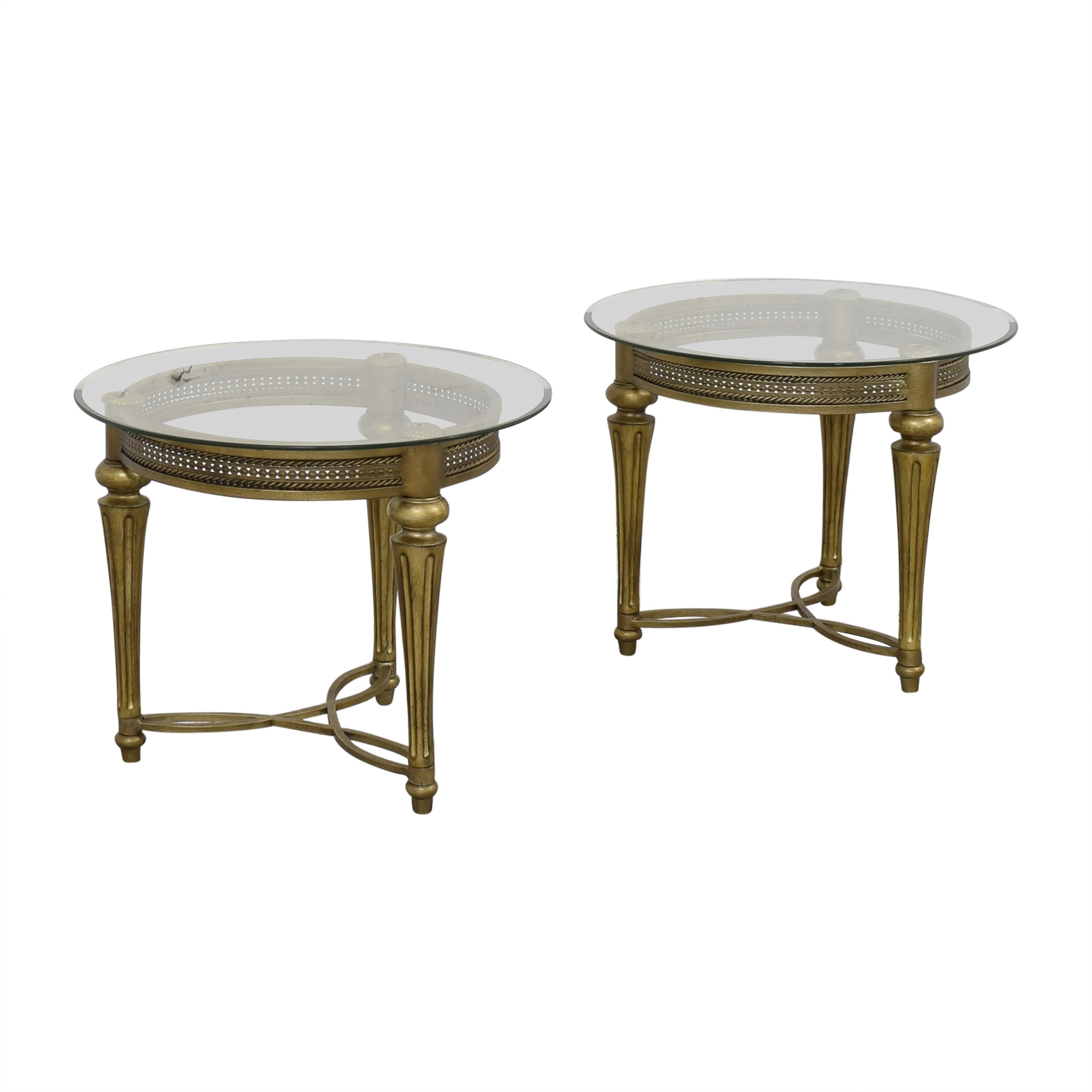 Magnussen Home Magnussen Home Furniture Galloway Round End Tables nyc