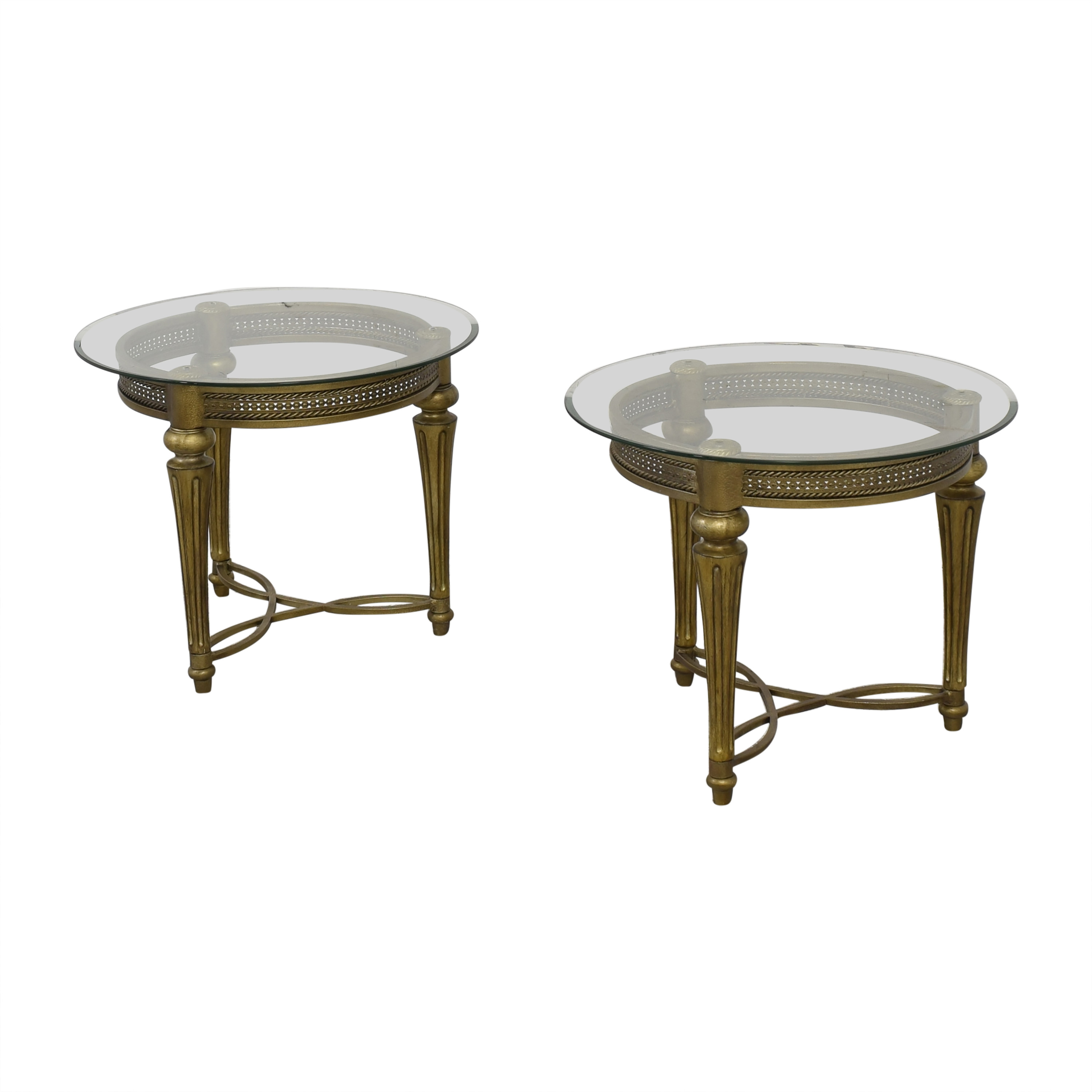 Magnussen Home Magnussen Home Furniture Galloway Round End Tables ma