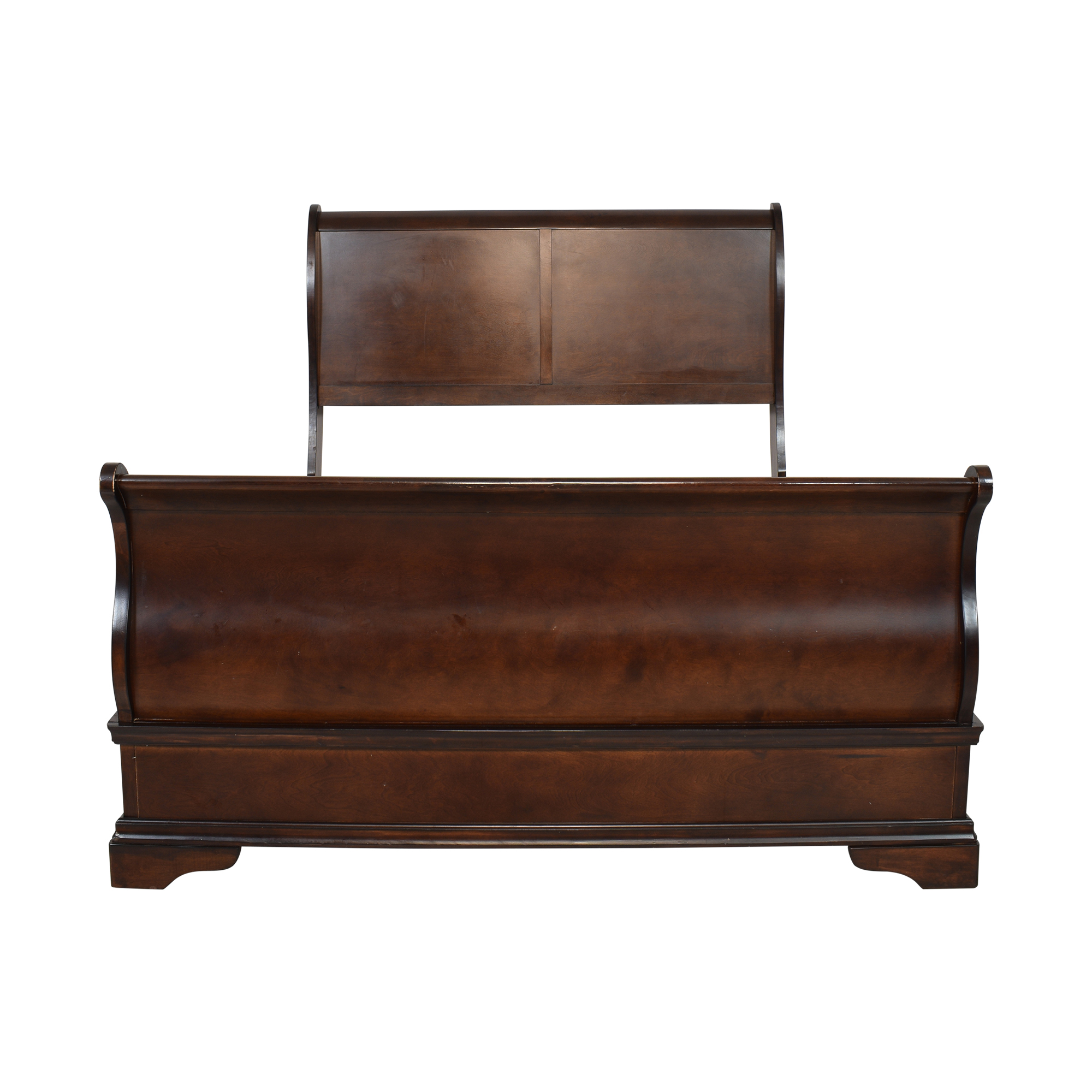 Raymour & Flanigan Raymour & Flanigan Queen Bed pa