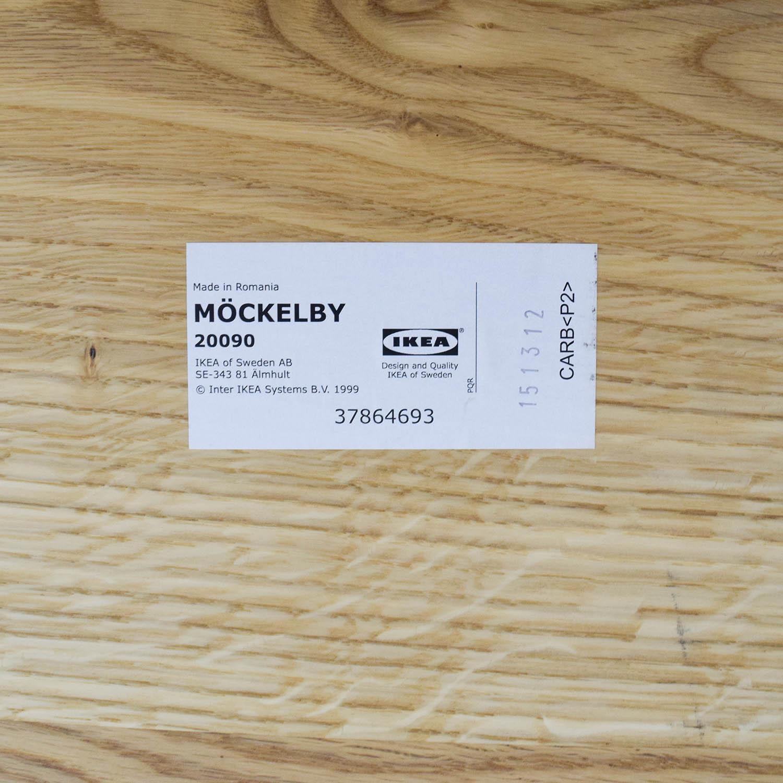 IKEA IKEA MOCKELBY Wood Table Light Brown