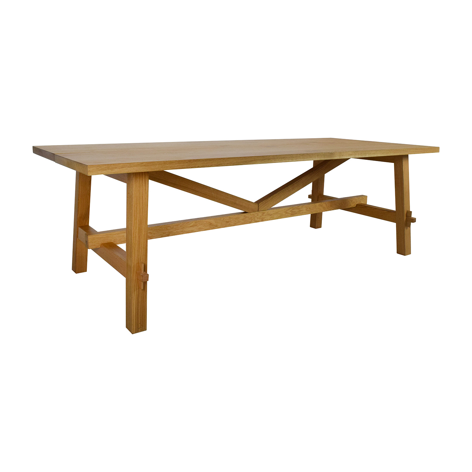 53 Off Ikea Ikea Mockelby Wood Table Tables