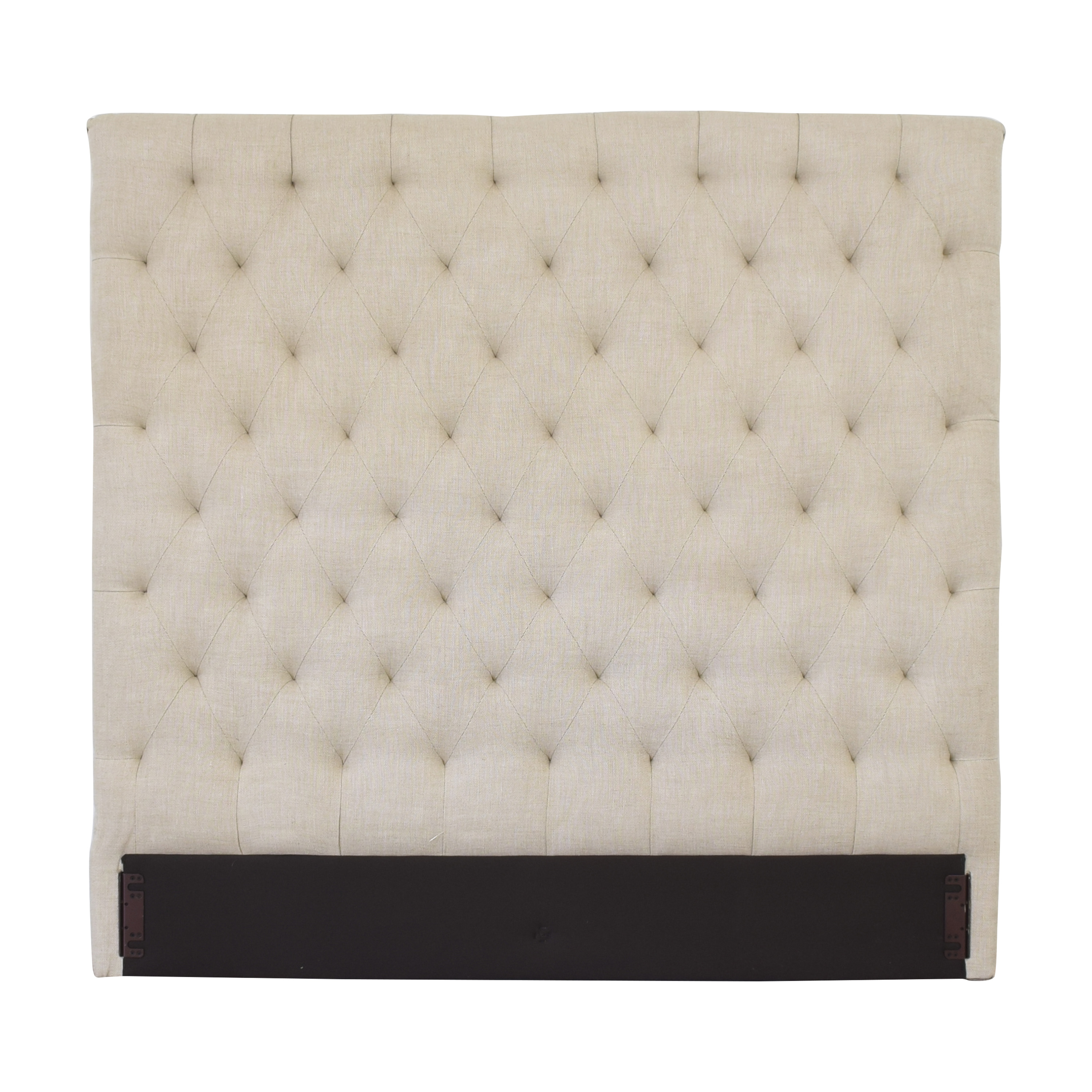 Restoration Hardware Restoration Hardware Chesterfield Queen Headboard dimensions
