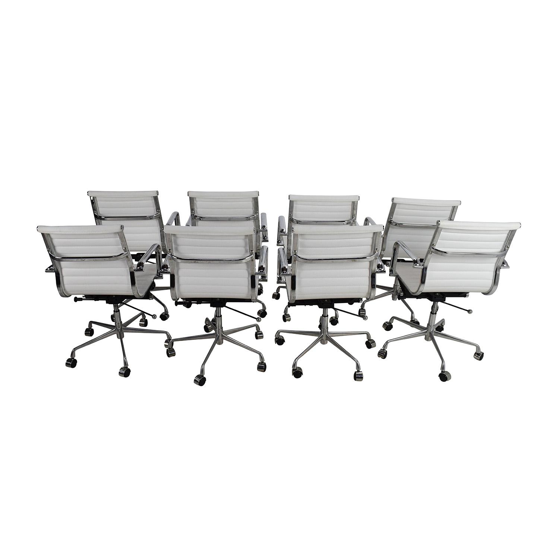 Laura Davidson Laura Davidson Eames Replica Office Chair Set