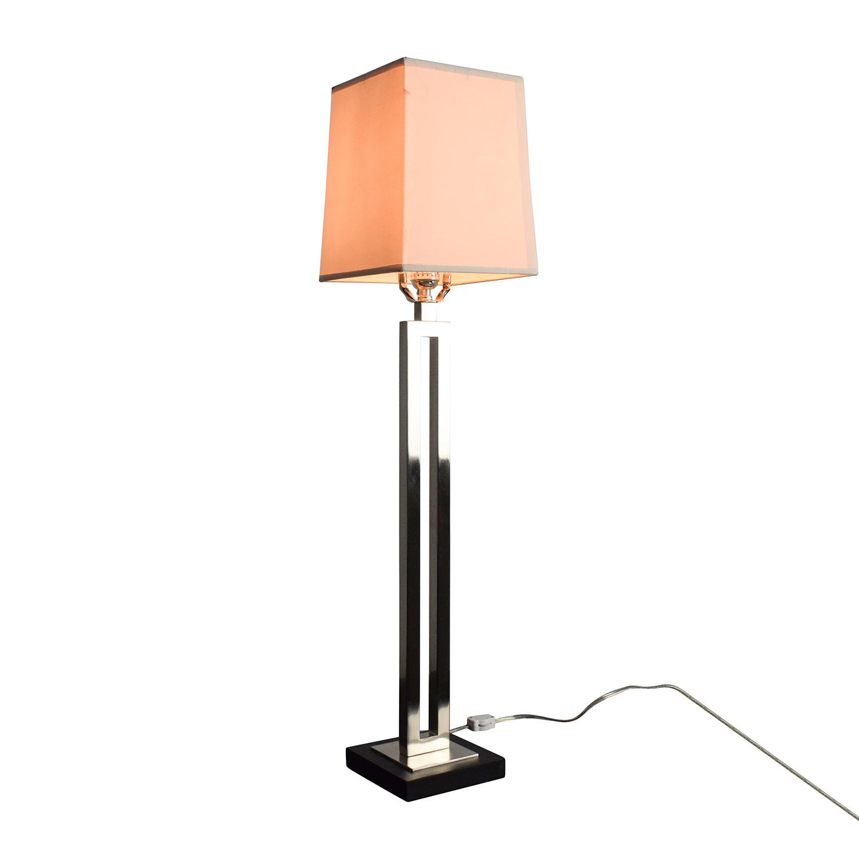 82 Off Crate Barrel Clare Buffet Lamp Decor
