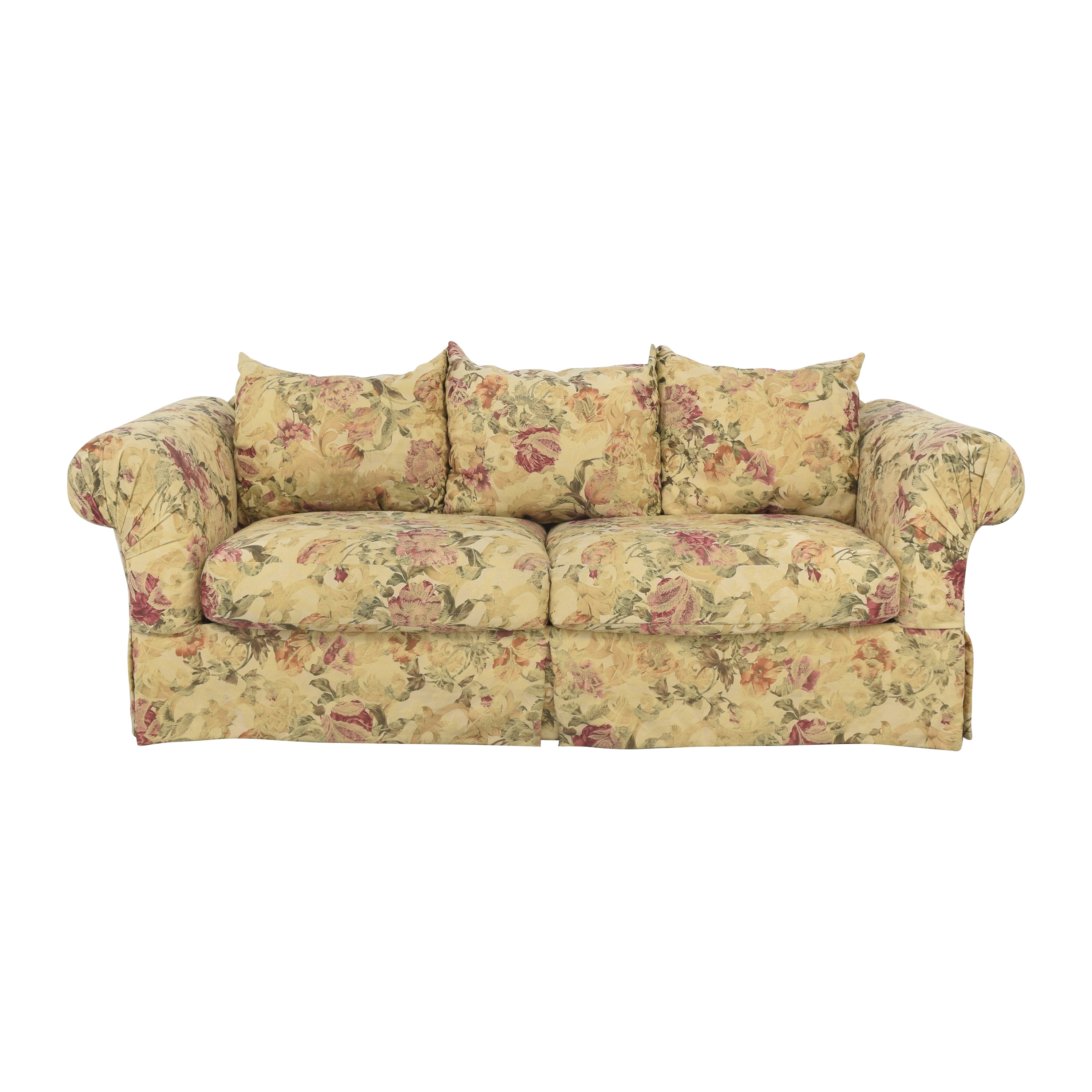 buy Rowe Three Cushion Sofa Rowe Furniture Classic Sofas