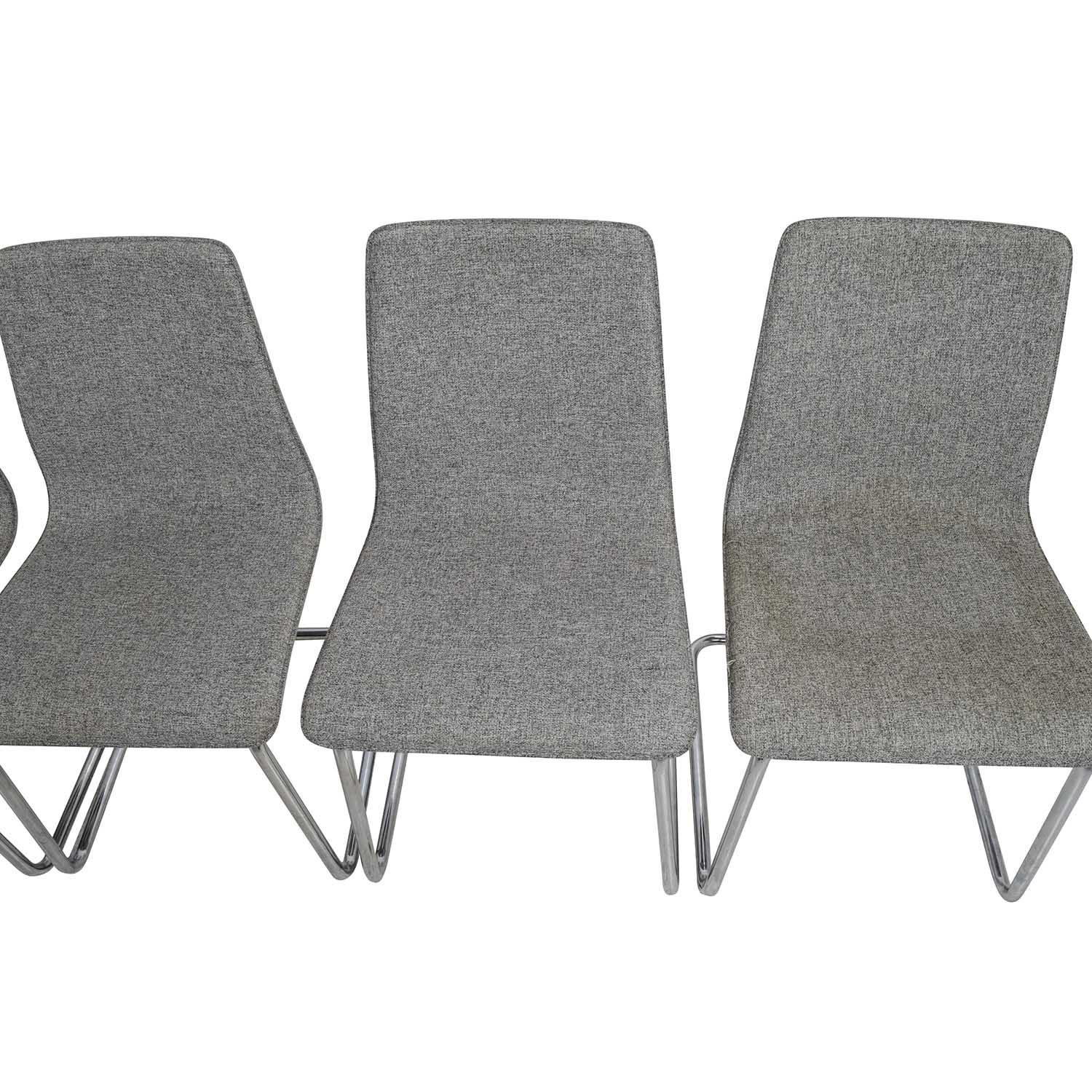 Ordinaire CB2 Gray Pony Chairs CB2