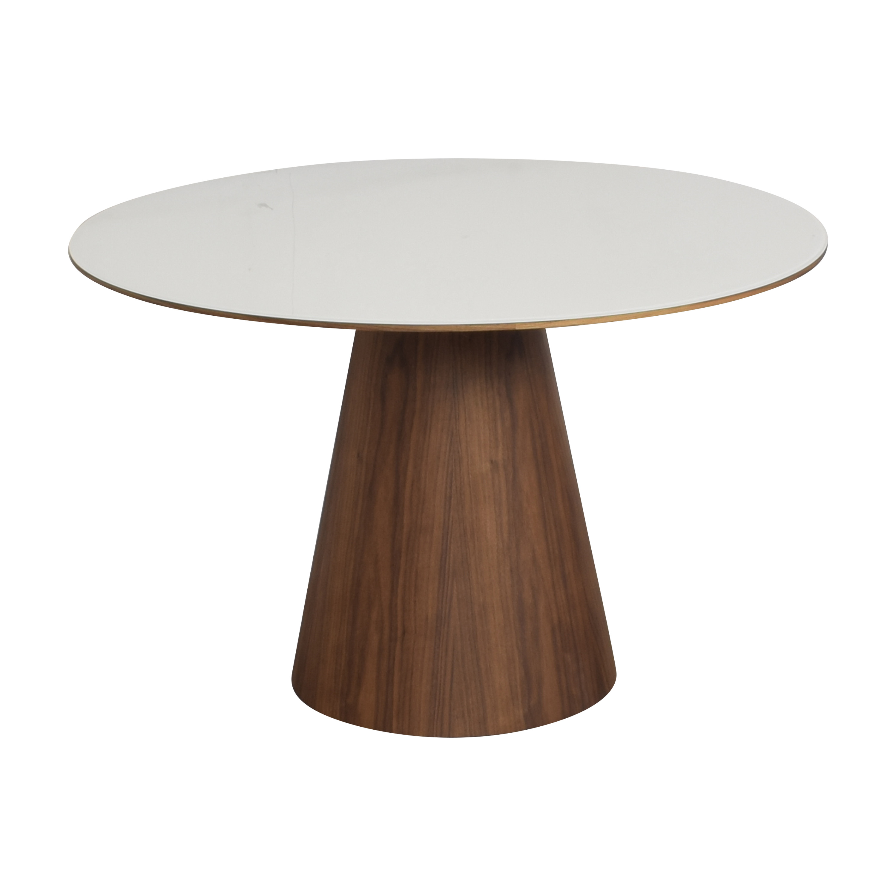 Rove Concepts Rove Concepts Winston Dining Table brown & white