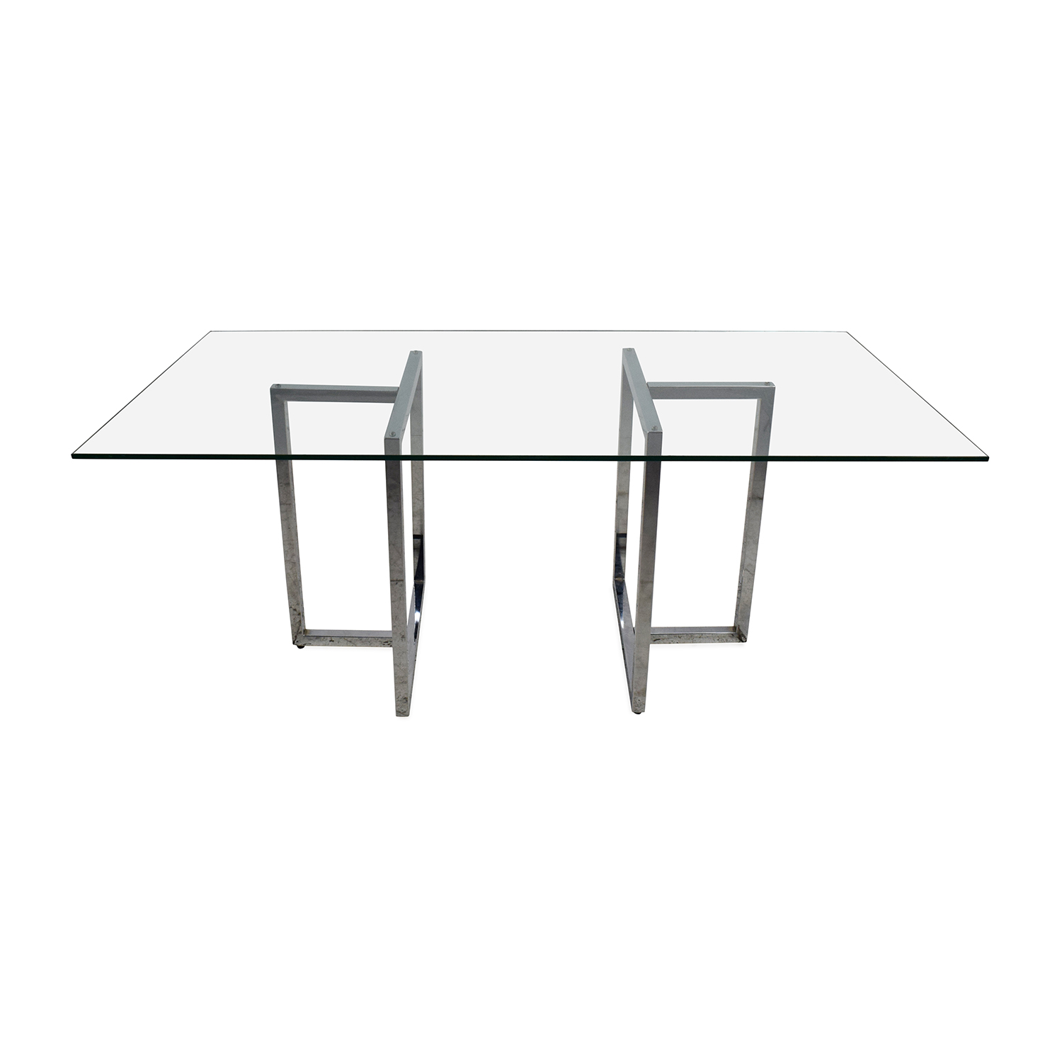 CB2 CB2 Silverado Dining Table Dinner Tables