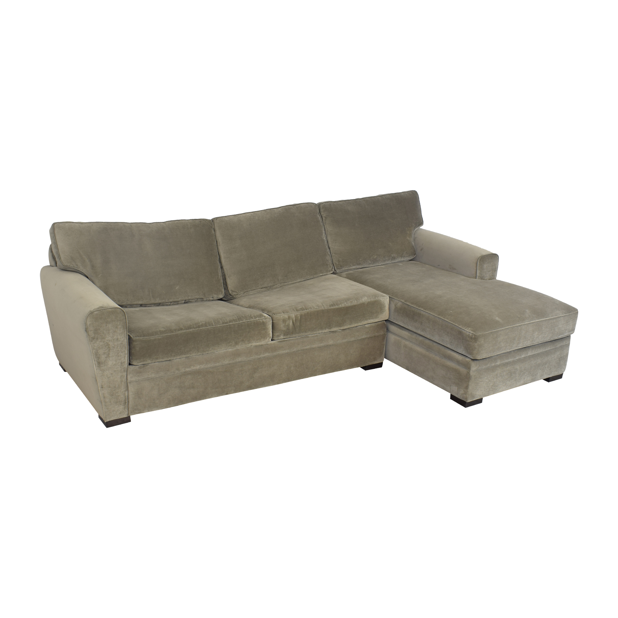 Raymour & Flanigan Raymour & Flanigan Artemis II Sectional Sofa with Sleeper used