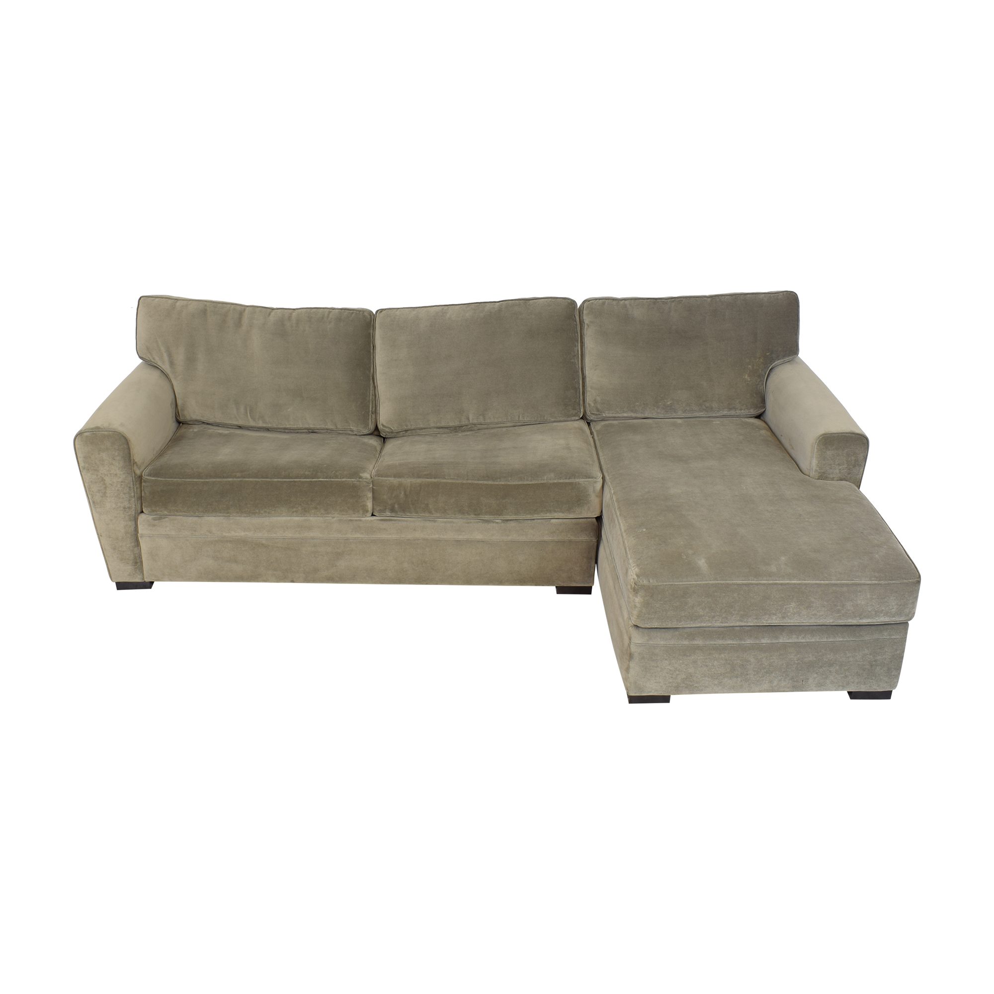 Raymour & Flanigan Raymour & Flanigan Artemis II Sectional Sofa with Sleeper discount