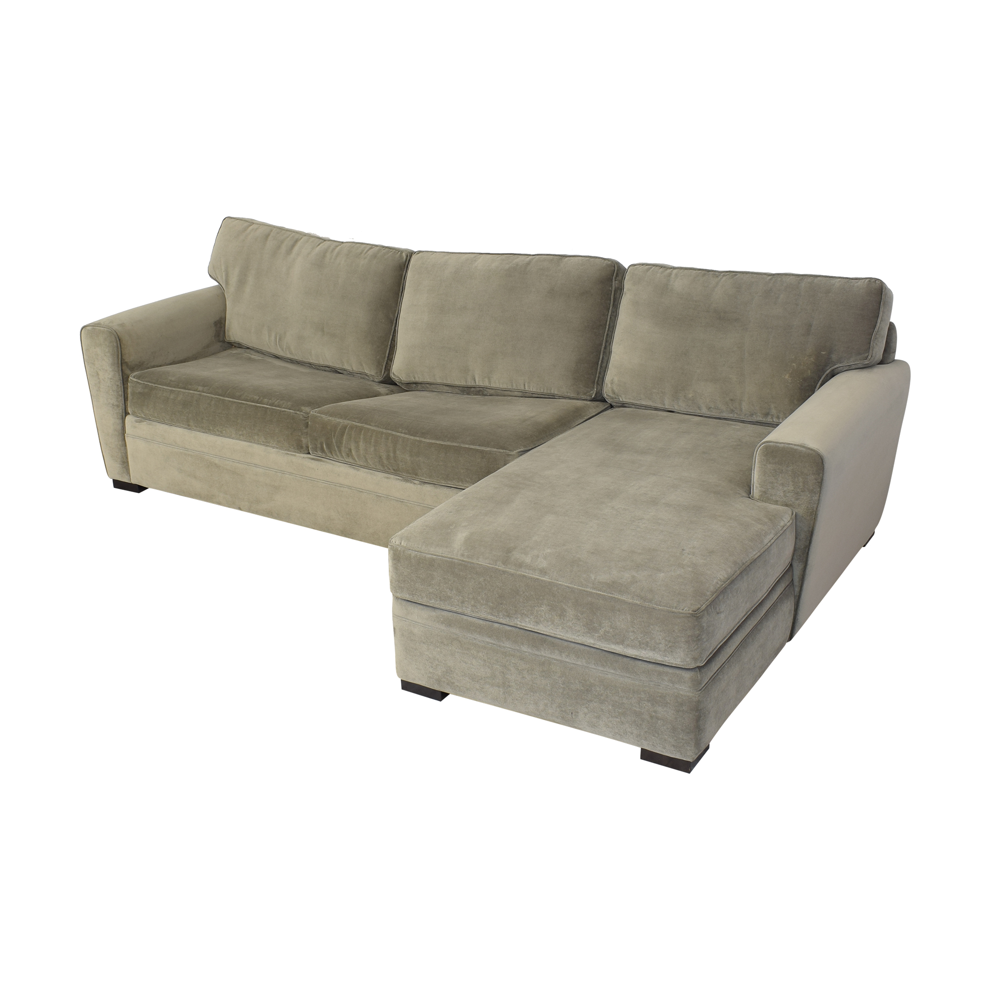 Raymour & Flanigan Artemis II Sectional Sofa with Sleeper / Sectionals