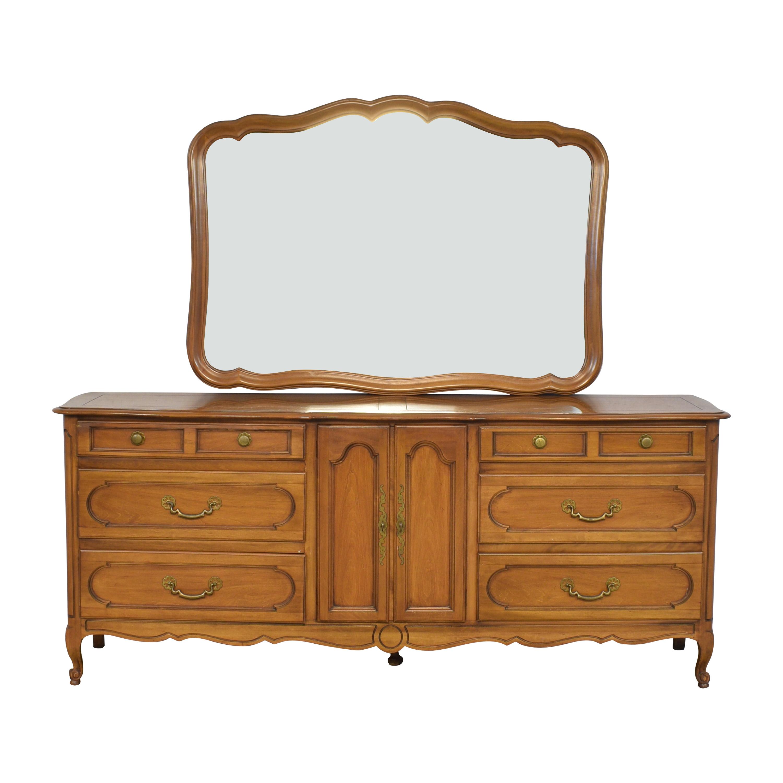 Century Furniture Century Furniture Dresser with Mirror Dressers