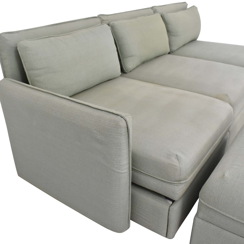 shop IKEA Vallentuna Modular Sleeper Sofa with Storage Ottoman IKEA Sectionals