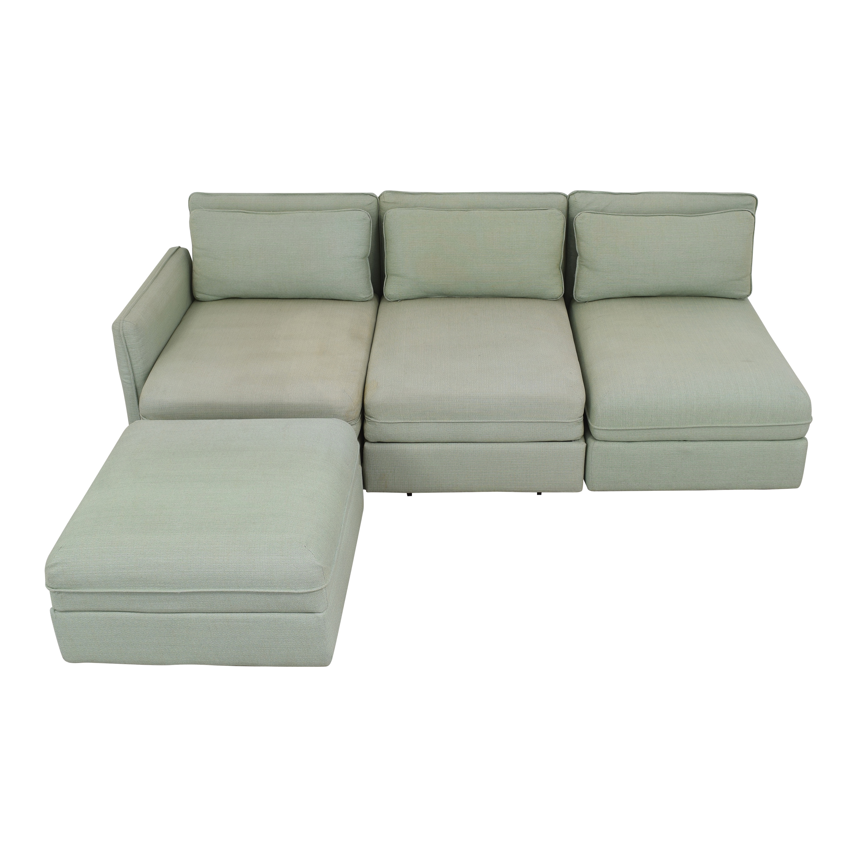 buy IKEA IKEA Vallentuna Modular Sleeper Sofa with Storage Ottoman online