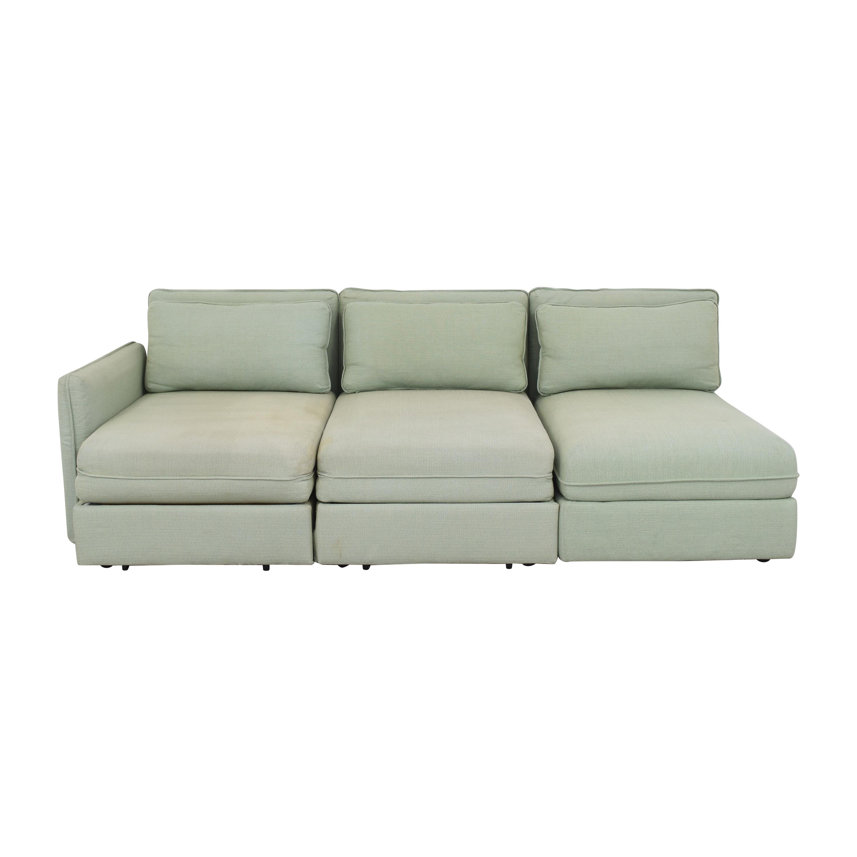 buy IKEA Vallentuna Modular Sleeper Sofa with Storage Ottoman IKEA Sofas