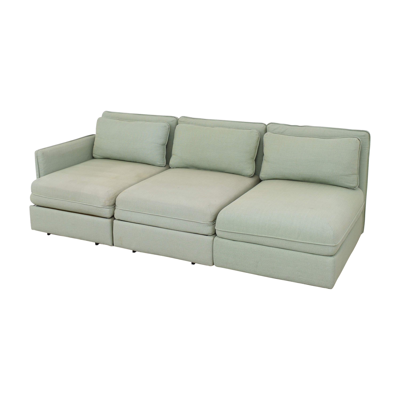 buy IKEA Vallentuna Modular Sleeper Sofa with Storage Ottoman IKEA