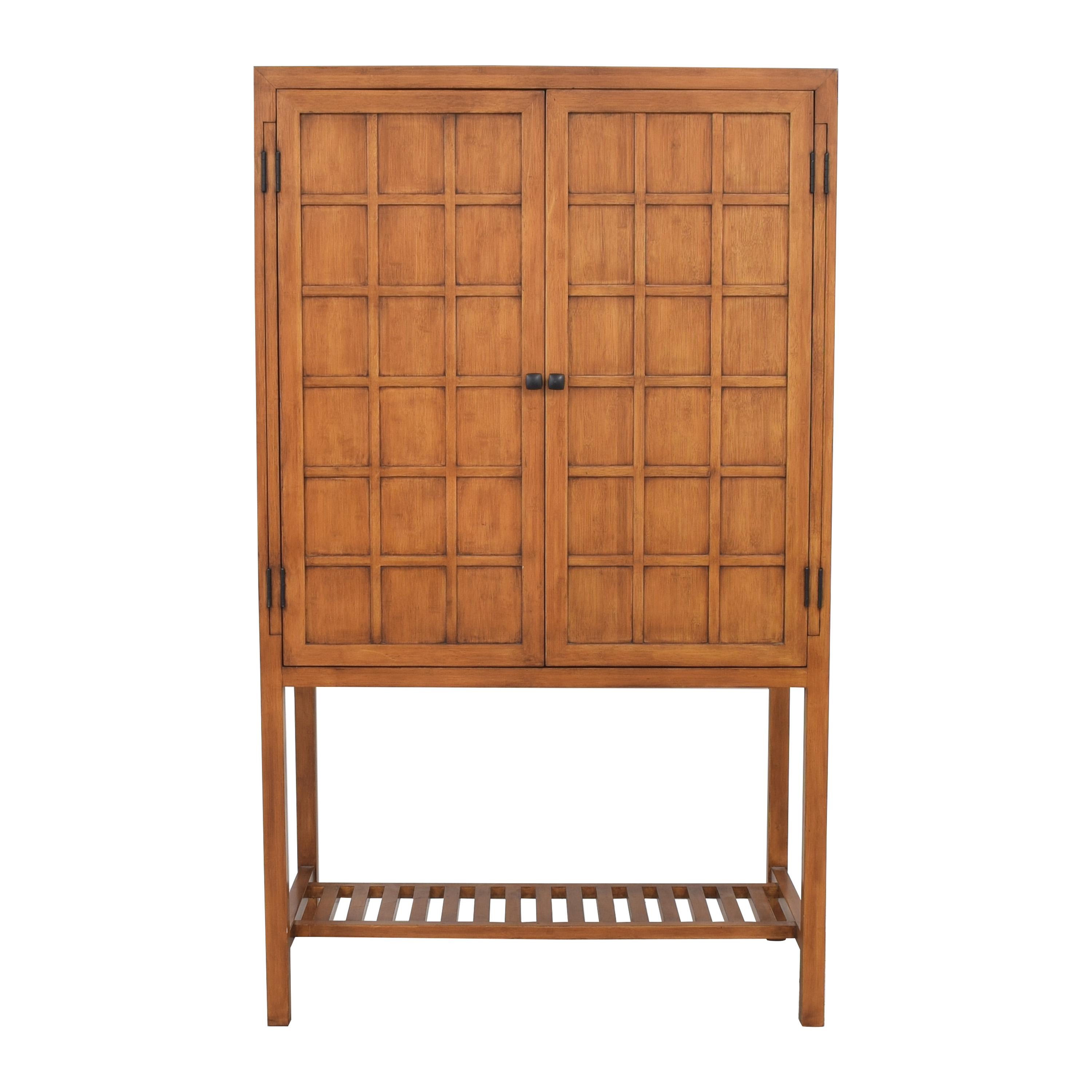 Crate & Barrel Crate & Barrel by Maria Yee Bamboo Timbre Console nj