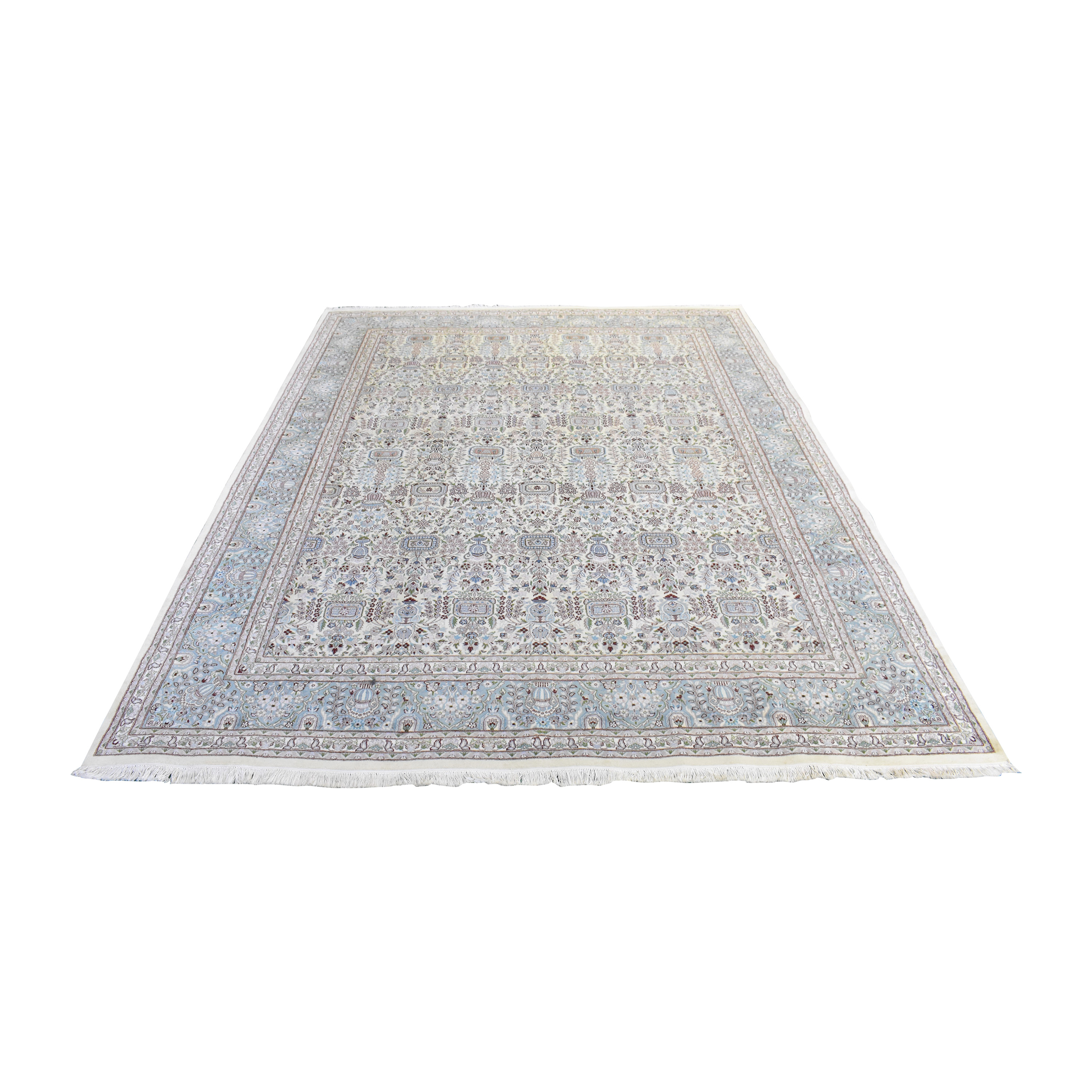 Bloomingdale's Oriental Rug with Fringe sale